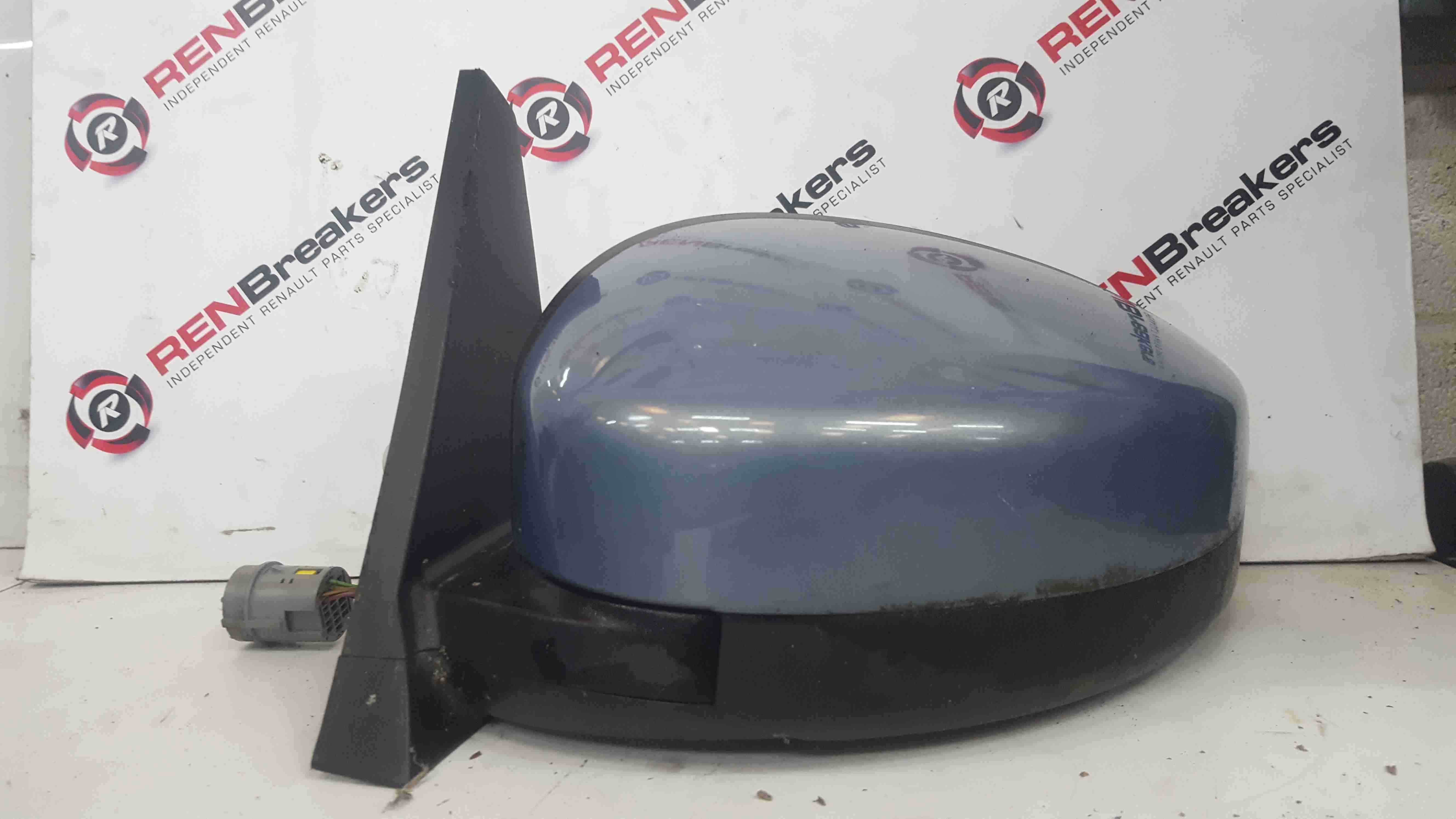 Renault Espace 2003-2013 Passenger NS Wing Mirror Purple TED47 Folding