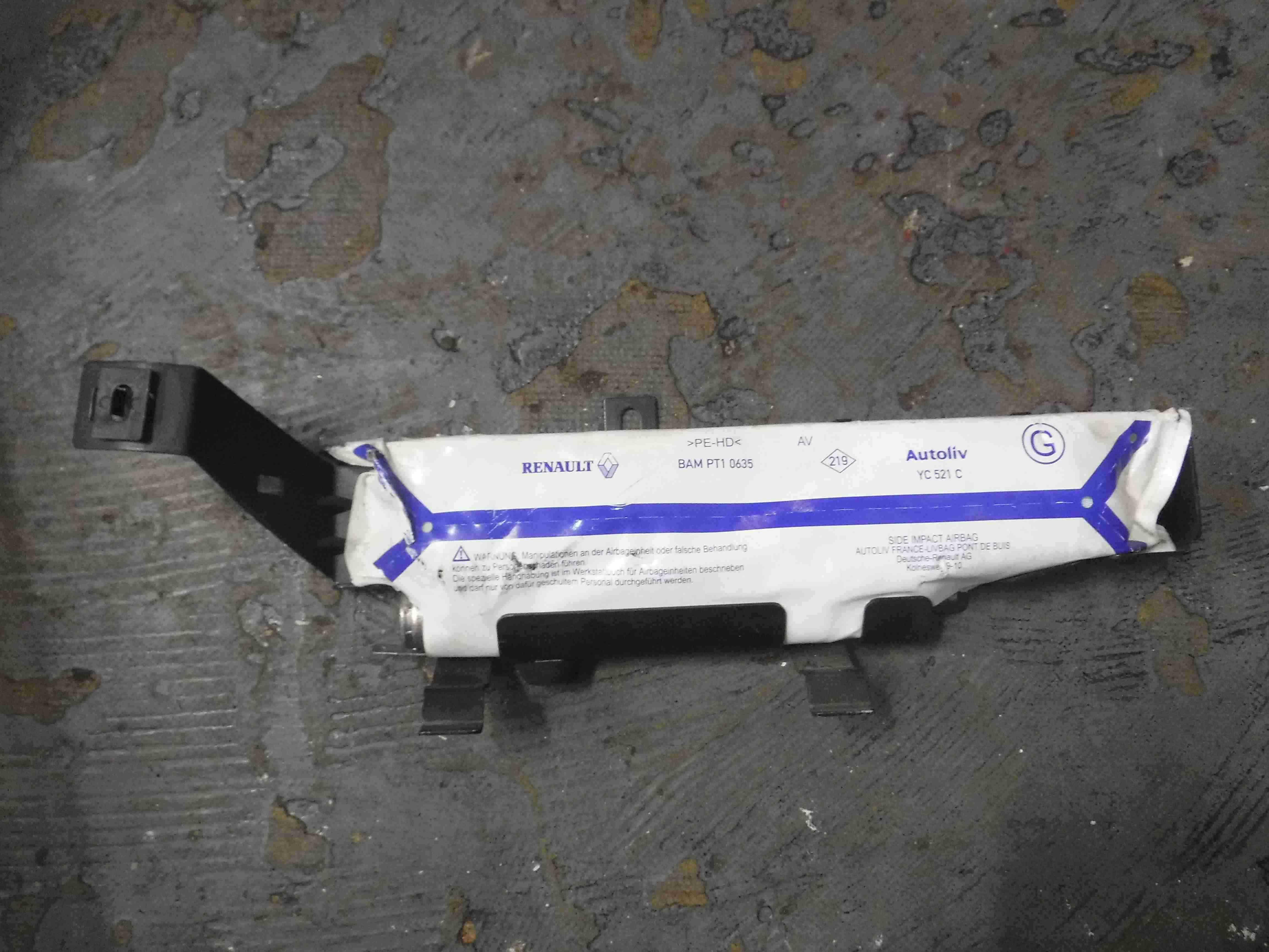 Renault Espace 2003-2013 Passenger NSR Rear Airbag 8200241448B