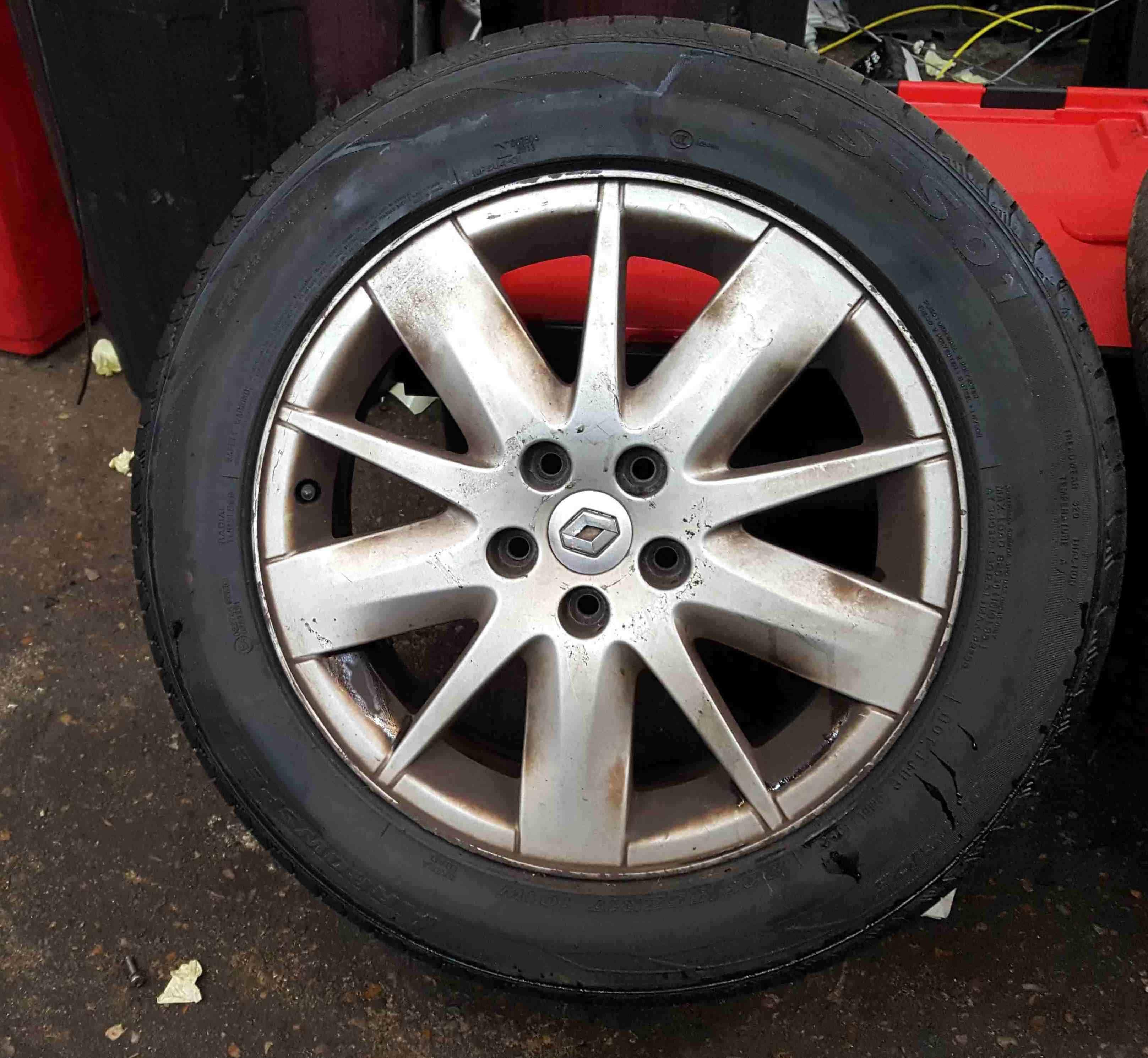 Renault Espace 2003-2013 Tellus Alloy Wheel 17inch 8200602880