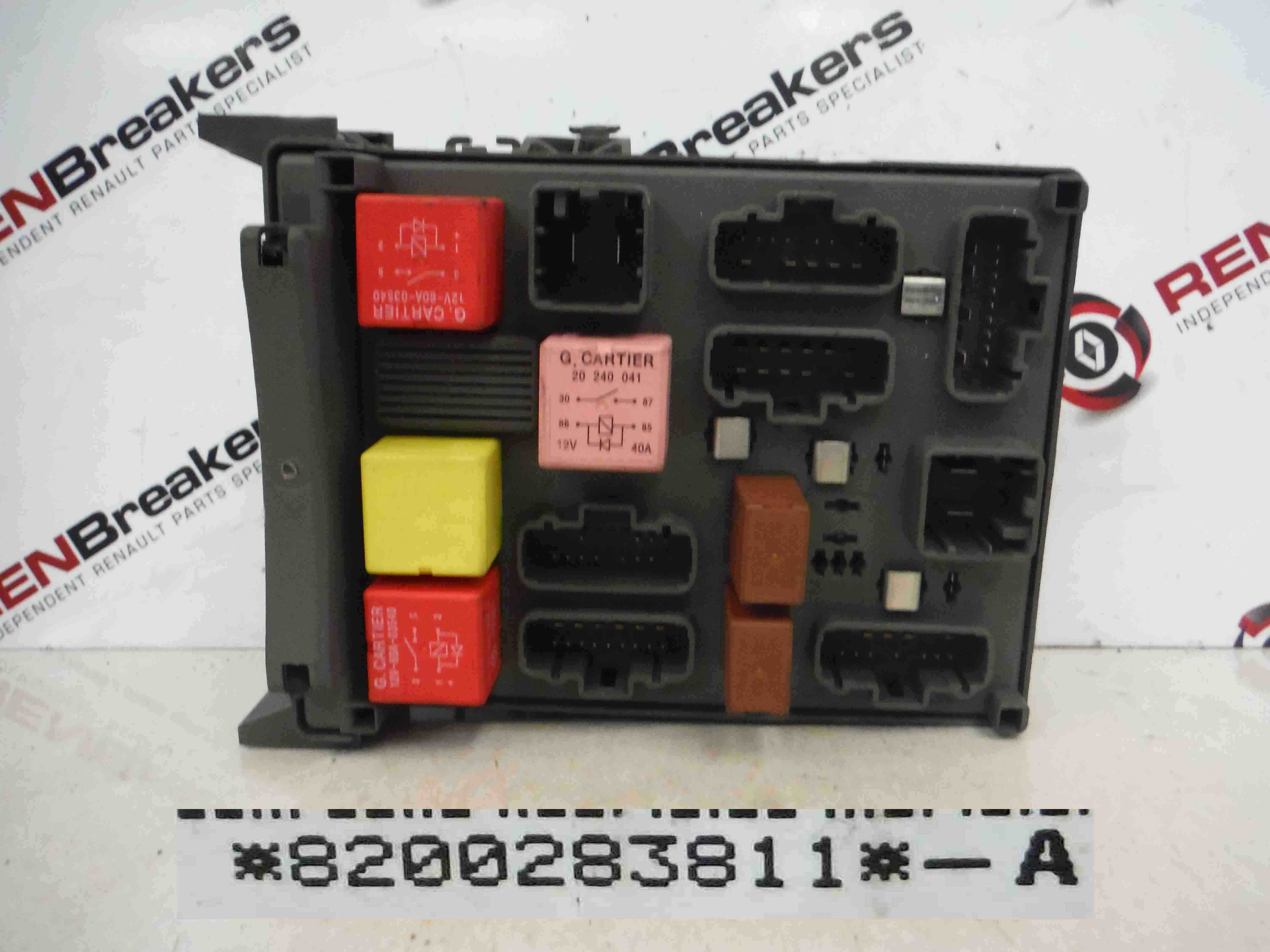 renault espace 2003 2013 underdash fuse box relay board computer click here for a high resolution photo