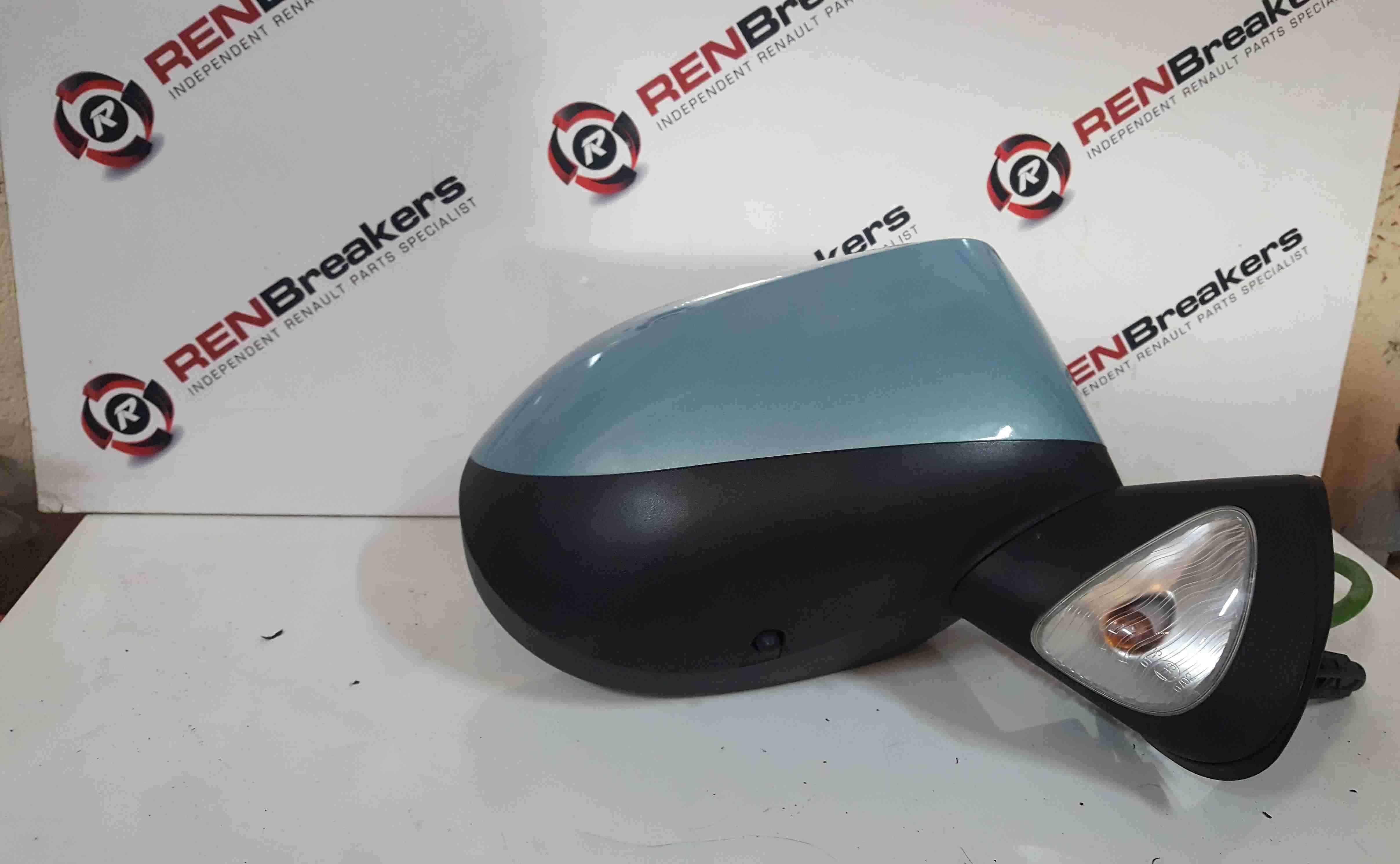 Renault Grand Modus 2008-2012 Drivers OS Wing Mirror Aqua TERNK