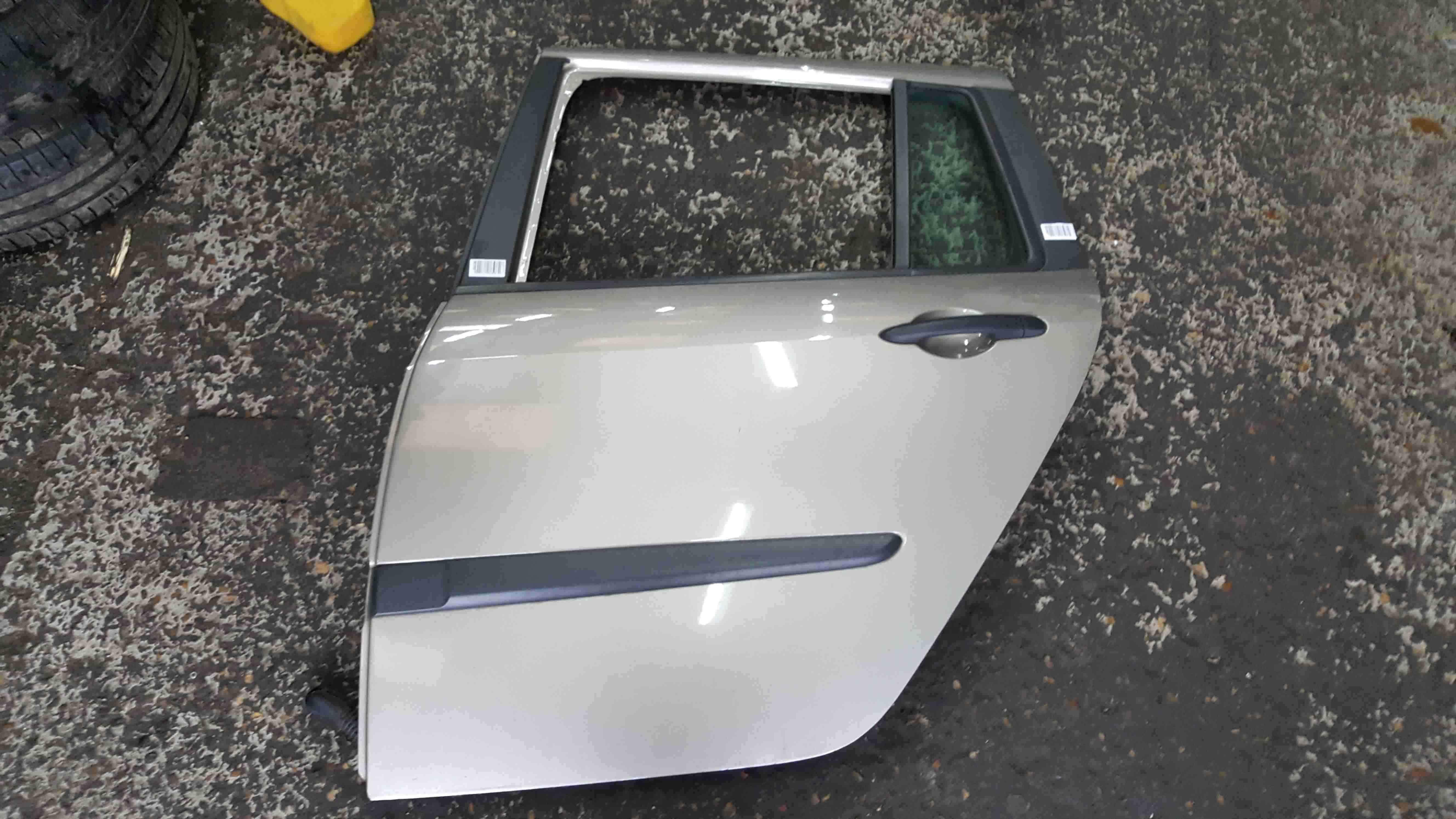 Renault Grand Modus 2008-2012 Passenger NSR Rear Door Gold Beige TEHNK