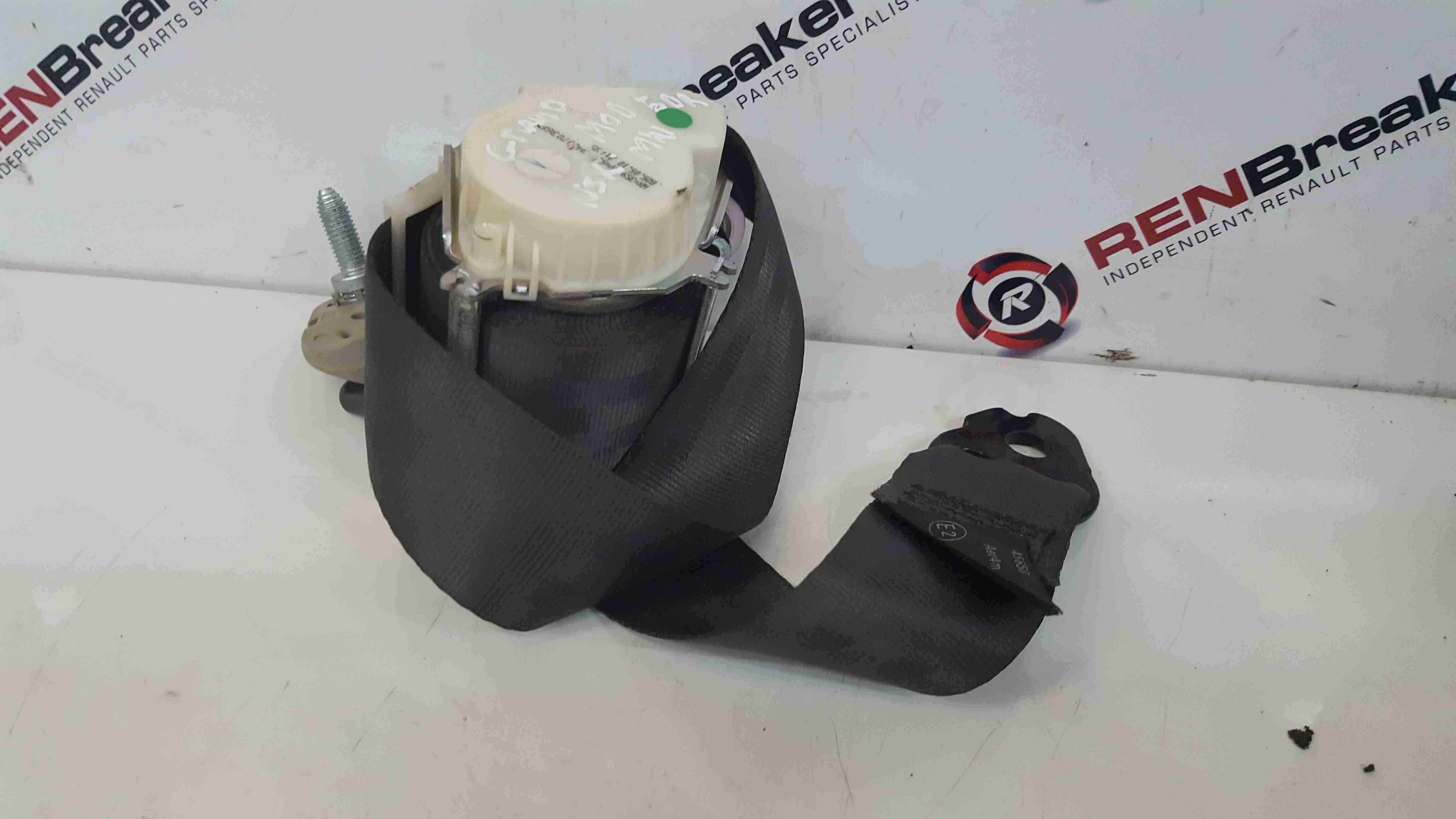 Renault Grand Modus 2008-2012 Passenger NSR Rear Seat Belt Seatbelt No Tensioner