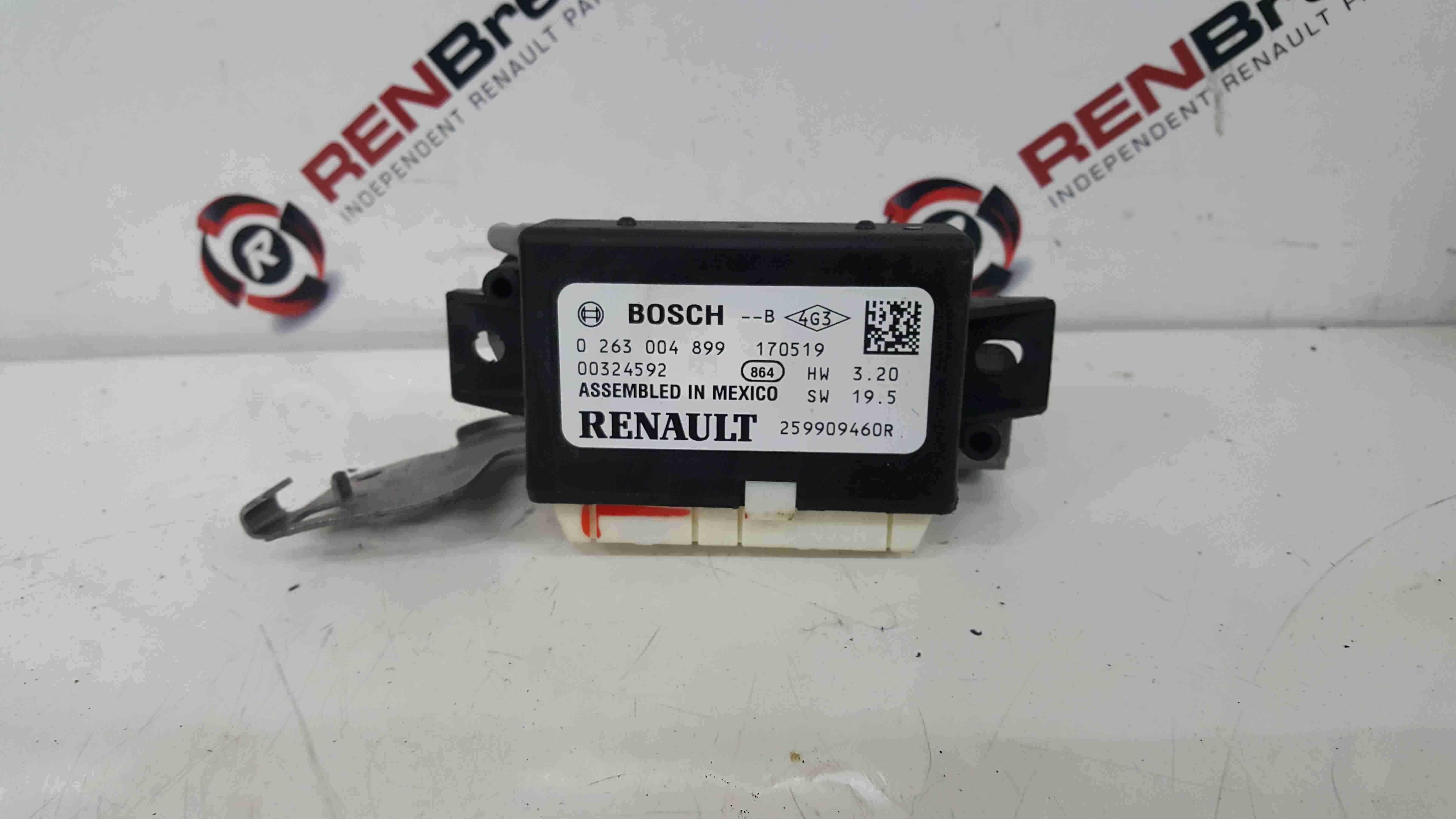 Renault Kadjar 2015-2018 Parking Sensor Module 259909460R