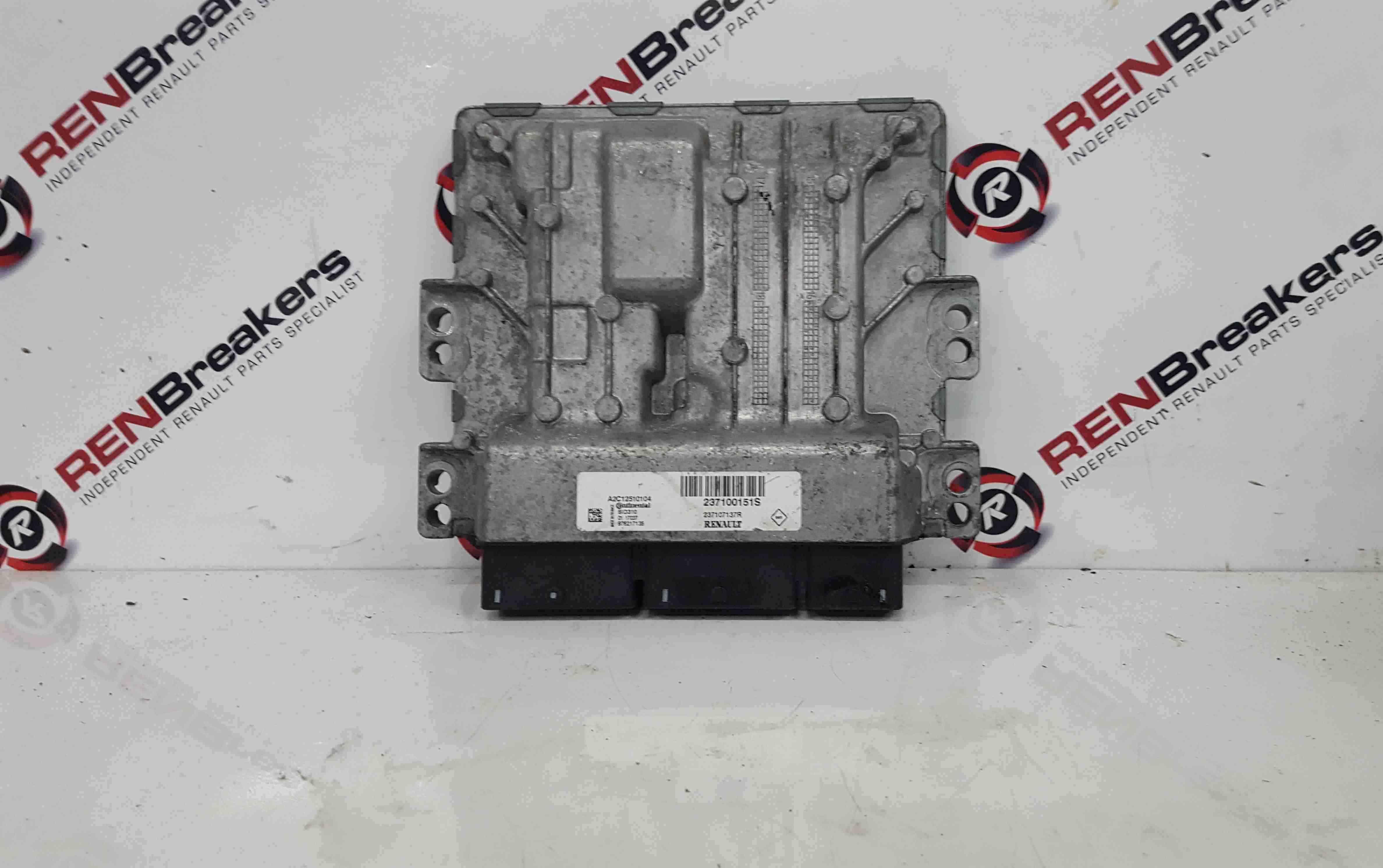 Renault Kadjar 2015-2021 1.5 DCi Engine Control ECU Computer 237100151S