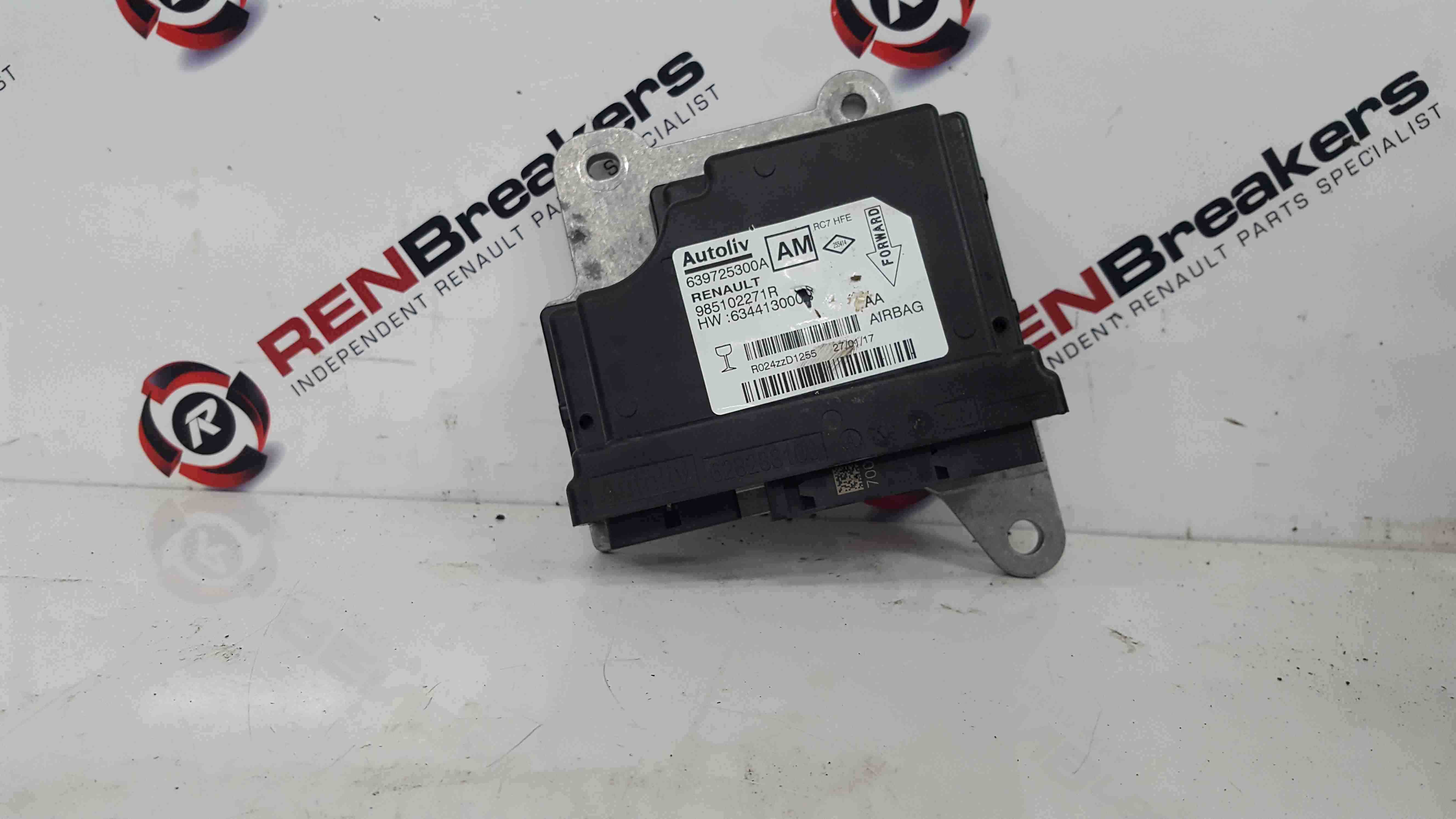 Renault Kadjar 2015-2021 Airbag Module Computer Spares And Repairs 985102271R