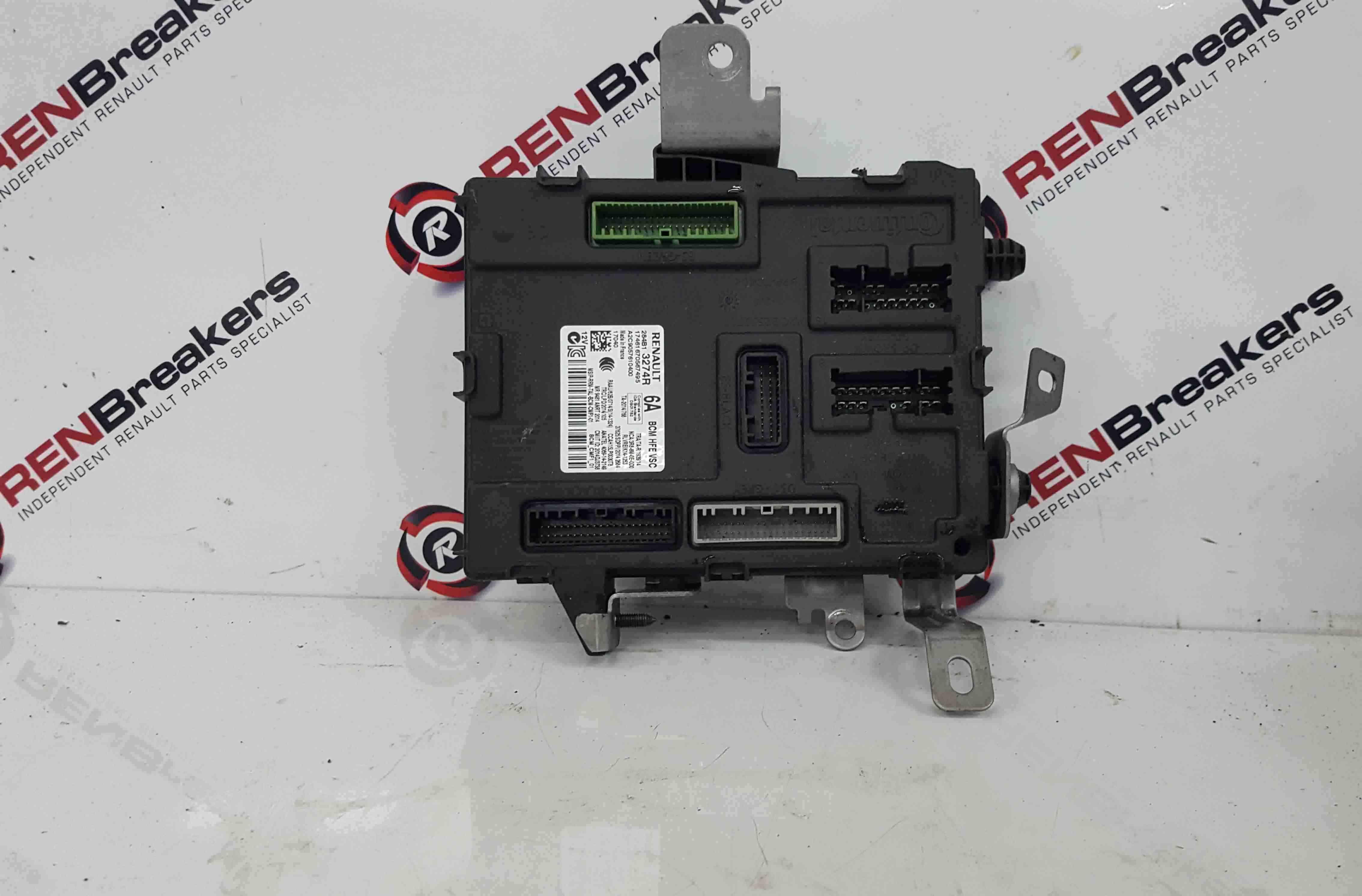 Renault Kadjar 2015-2021 BCM Body Control Module 284B13274R