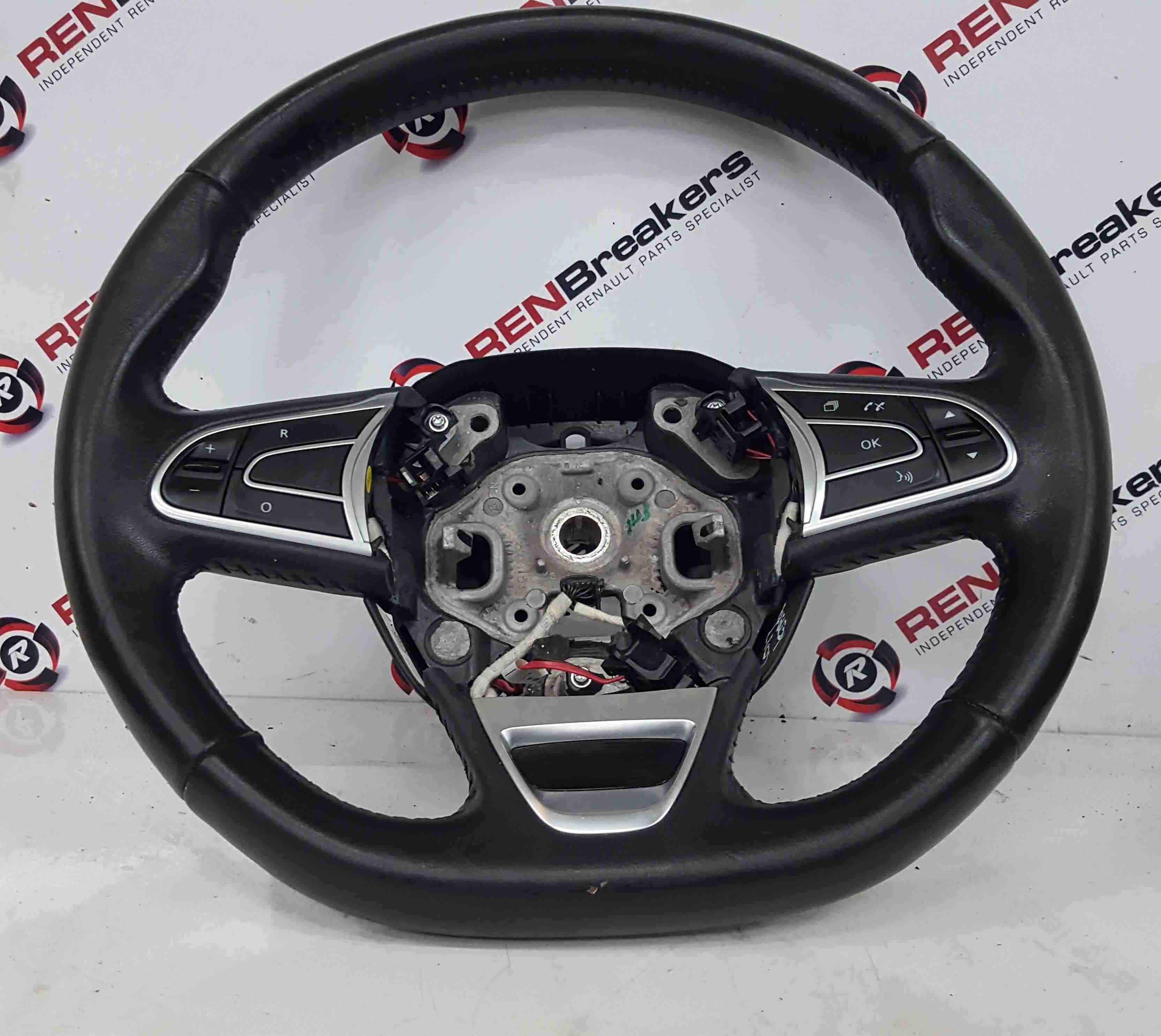 Renault Kadjar 2015-2021 Multi Functional Leather Steering Wheel 484005825R