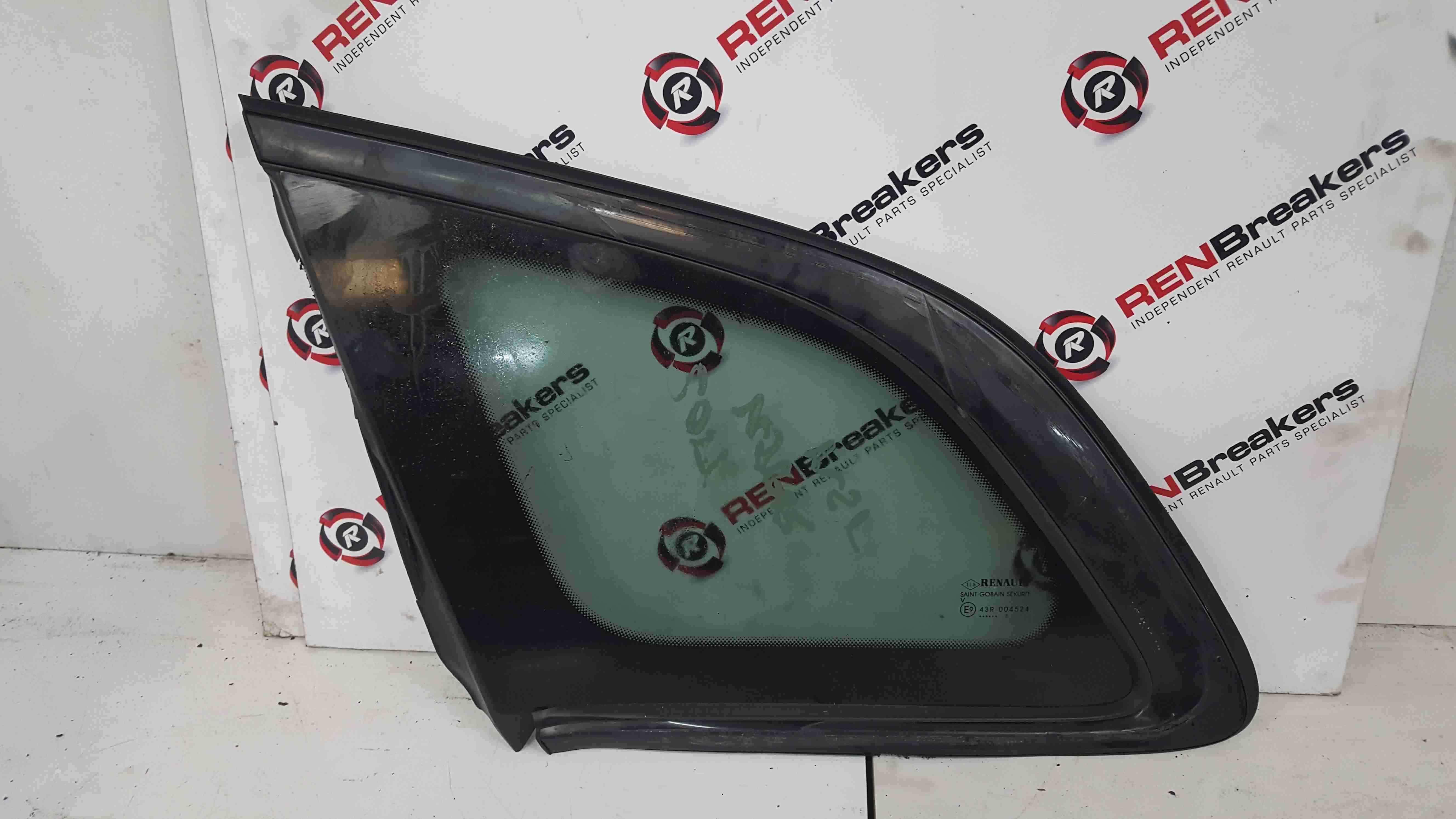Renault Kadjar 2015-2021 Passenger NSR Rear Glass Window