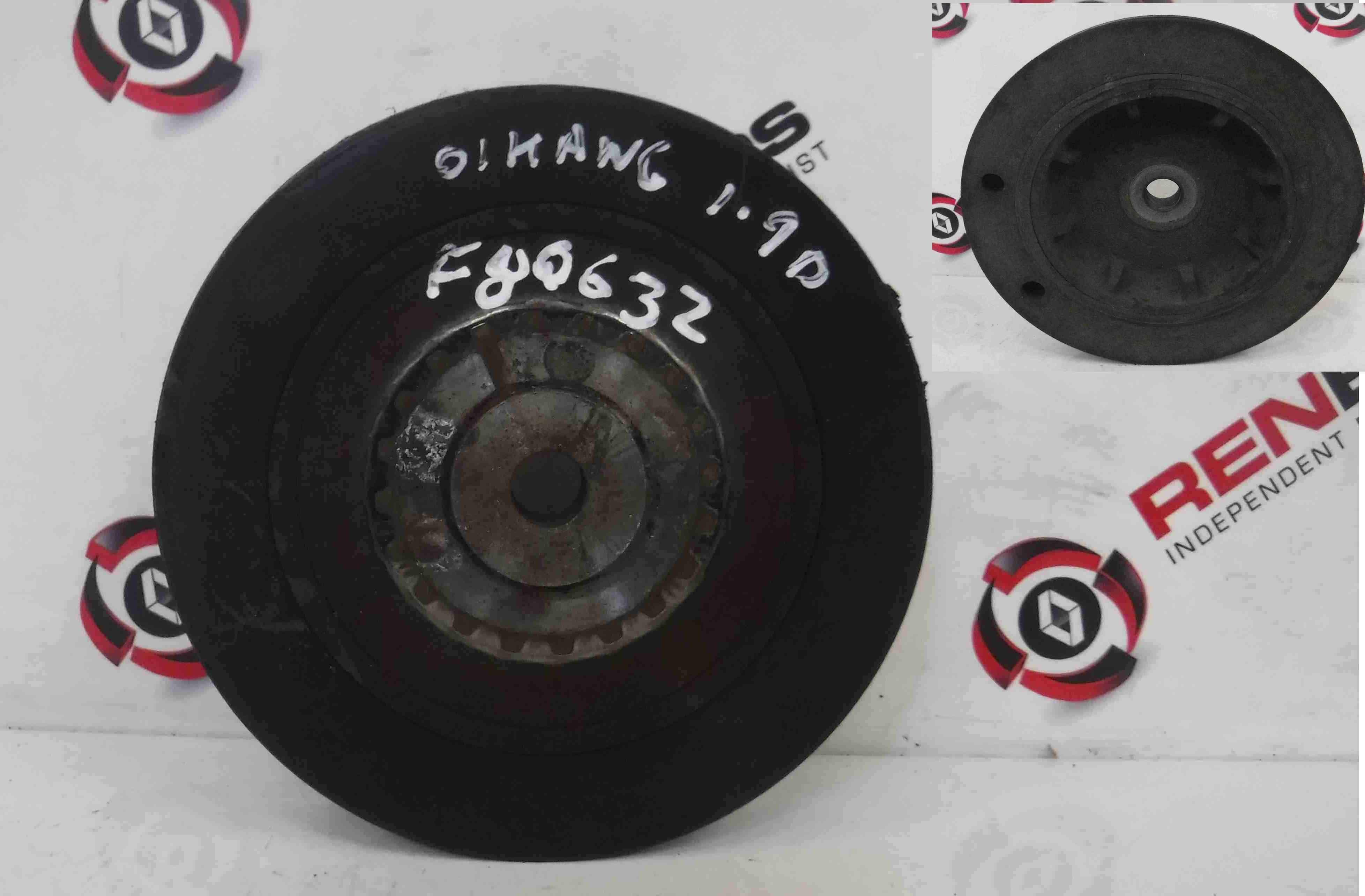 Renault Kangoo 1993-2003 1.9 D Crankshaft Pulley Engine
