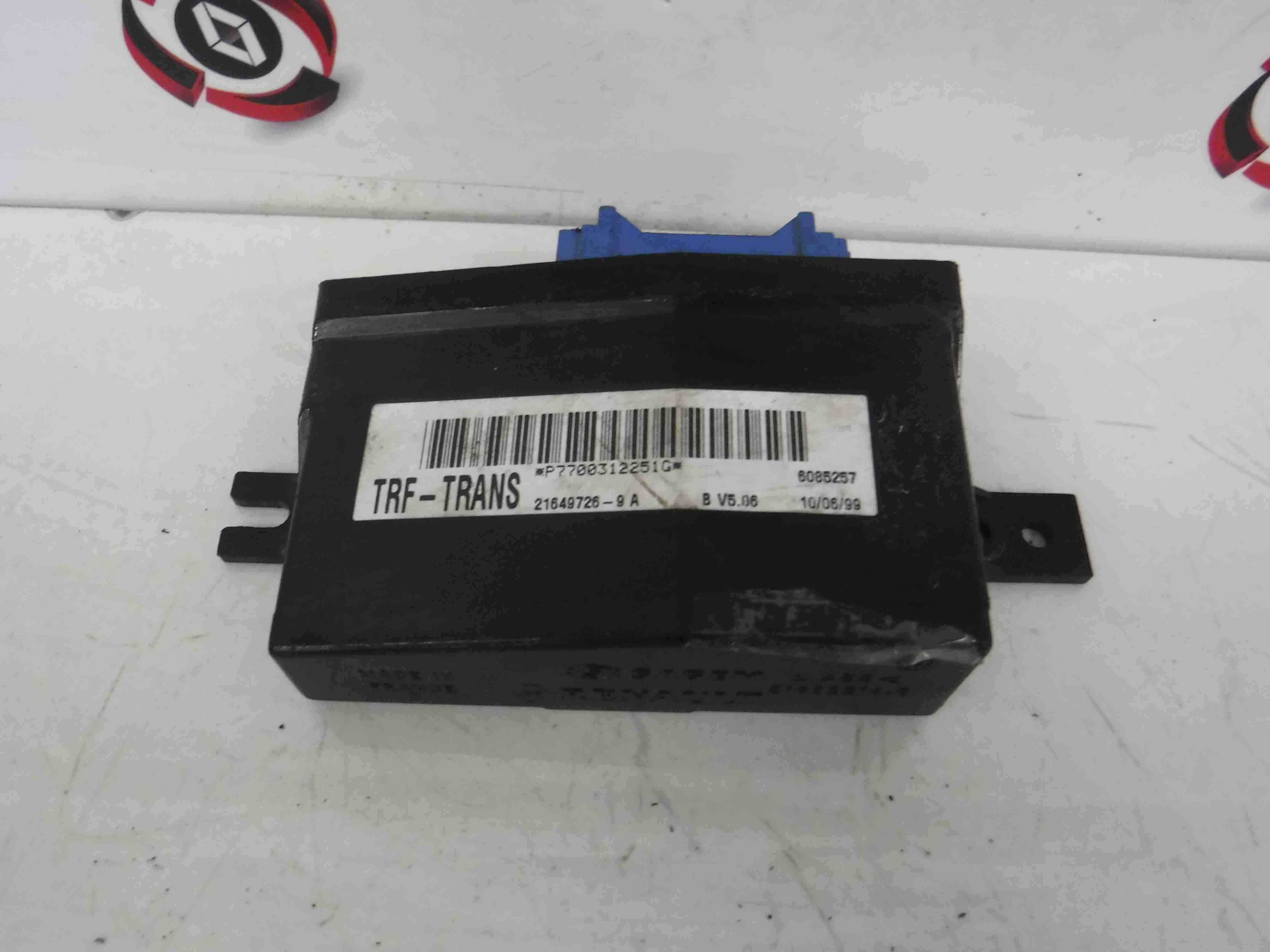 Fuse Box Renault Kangoo Wiring Library Espace 1993 2003 19 D Bcm Uch Immobiliser 7700312251