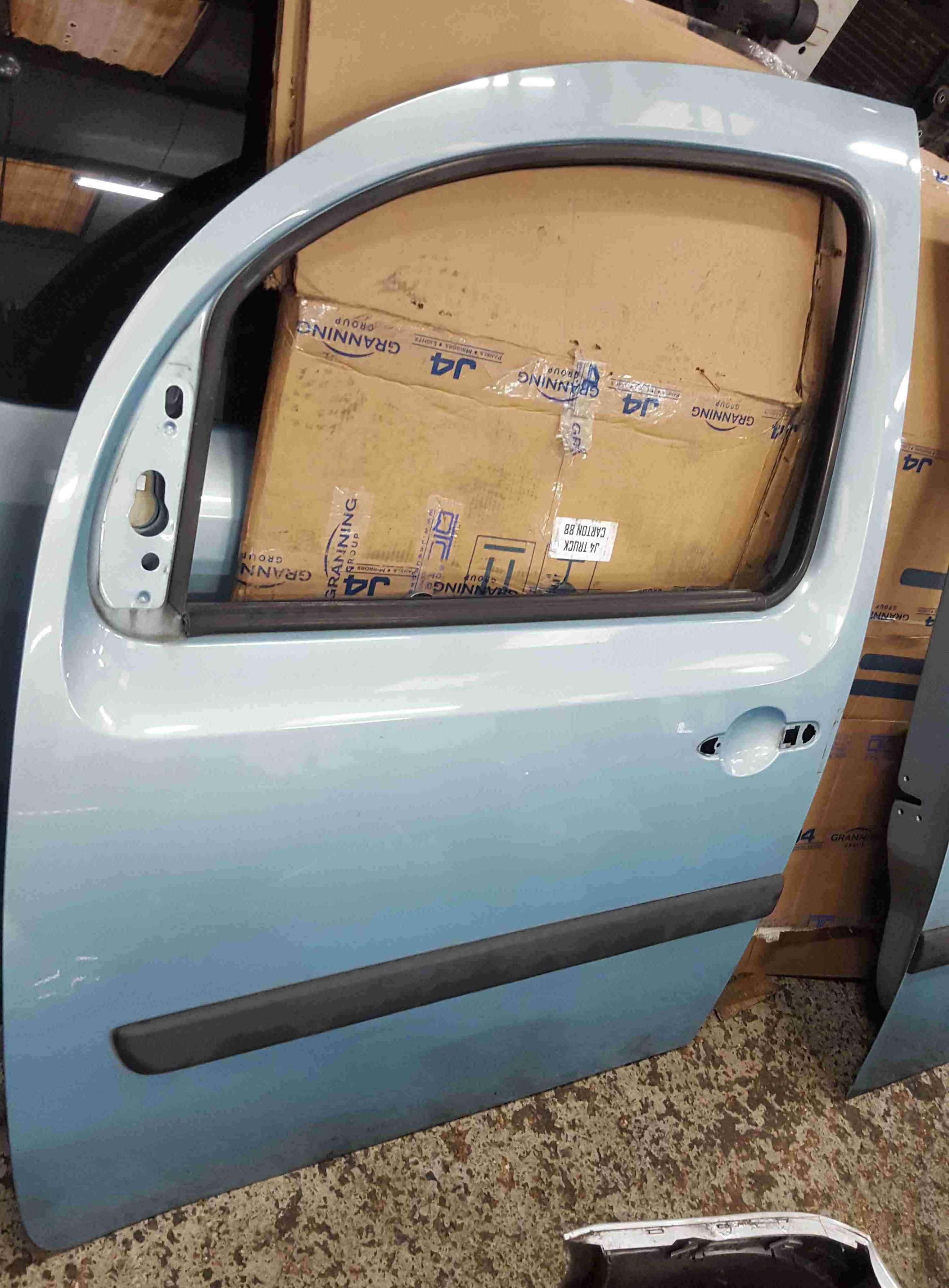 Renault Kangoo 2007-2013 Passenger NSF Front Door Aqua Blue TERNP