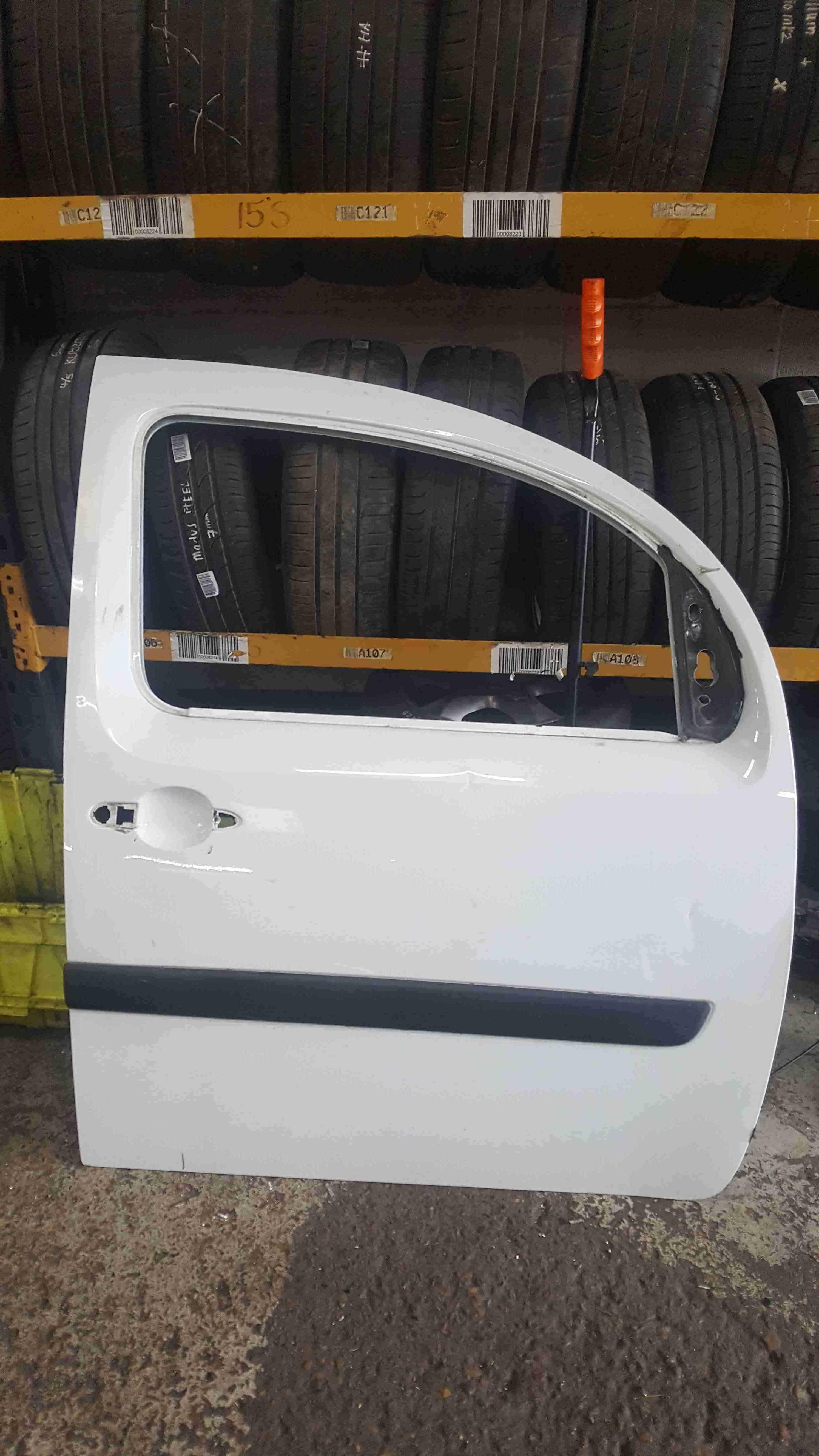Renault Kangoo 2007-2017 Drivers OSF Front White Door O369 0369