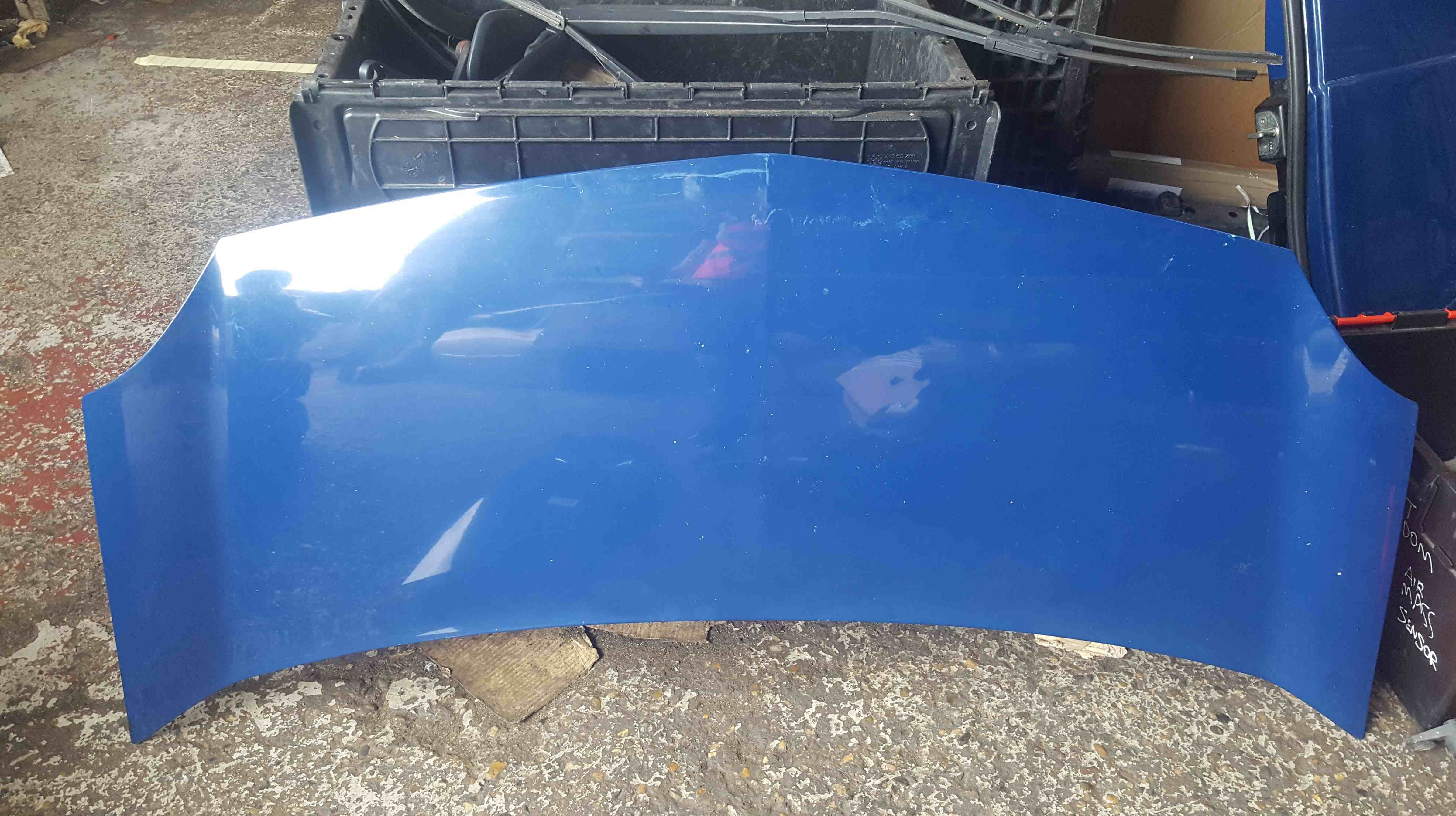 Renault Kangoo 2007-2017 Front Bonnet Blue ORNQ