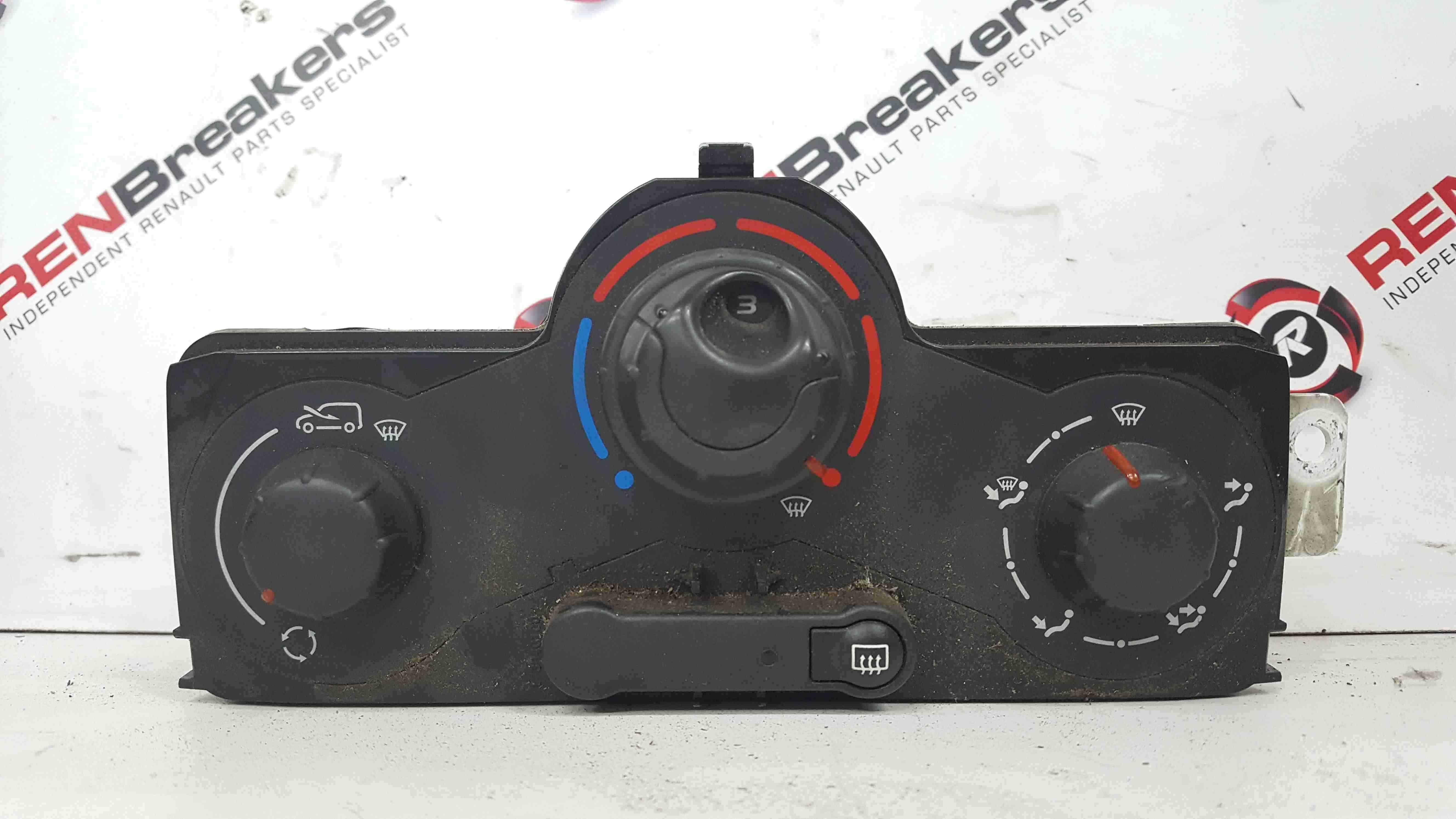 Renault Kangoo 2007-2017 Heater Controls Panel