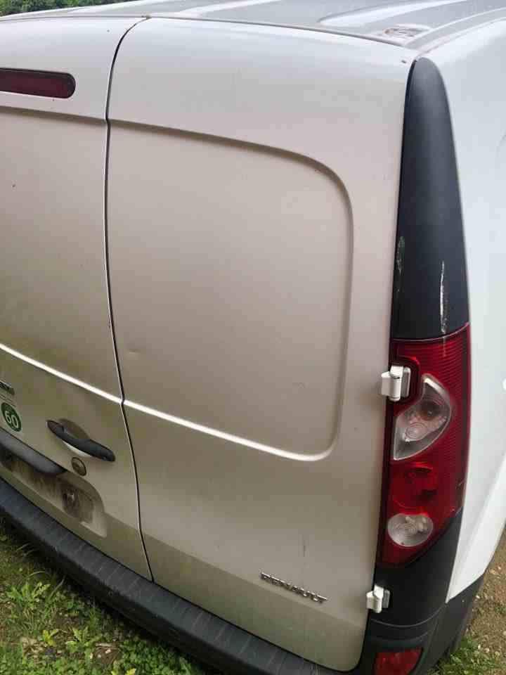 Renault Kangoo Maxi 2007-2017 Drivers OSR Rear Barn Door White OV389