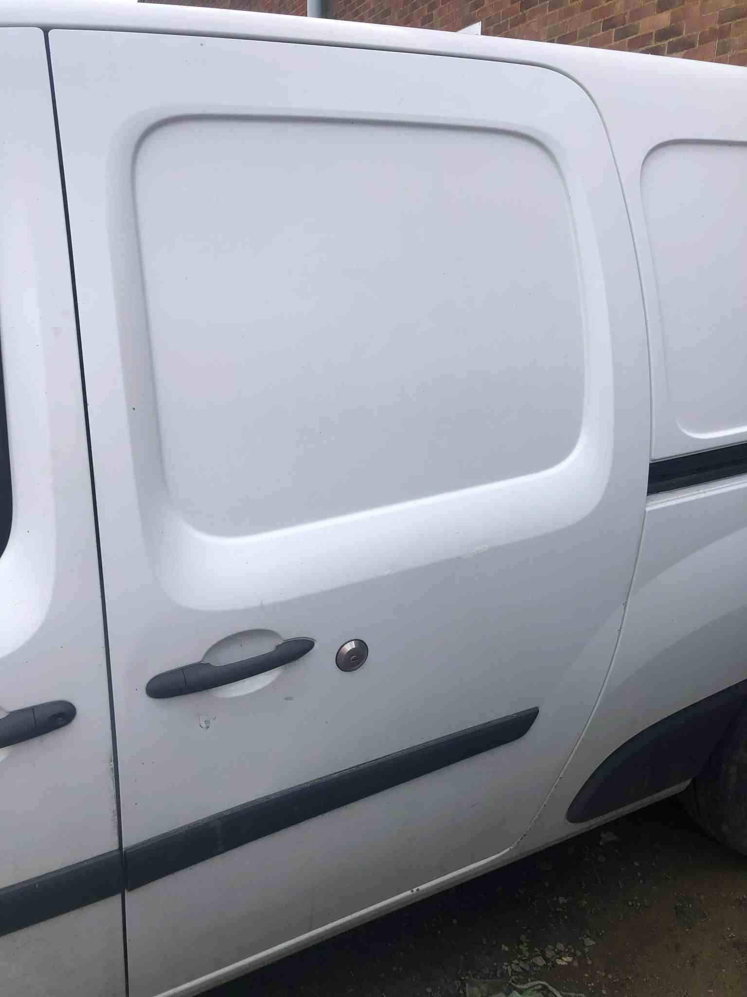 Renault Kangoo Maxi 2007-2017 Passenger NS Sliding Door White OV389