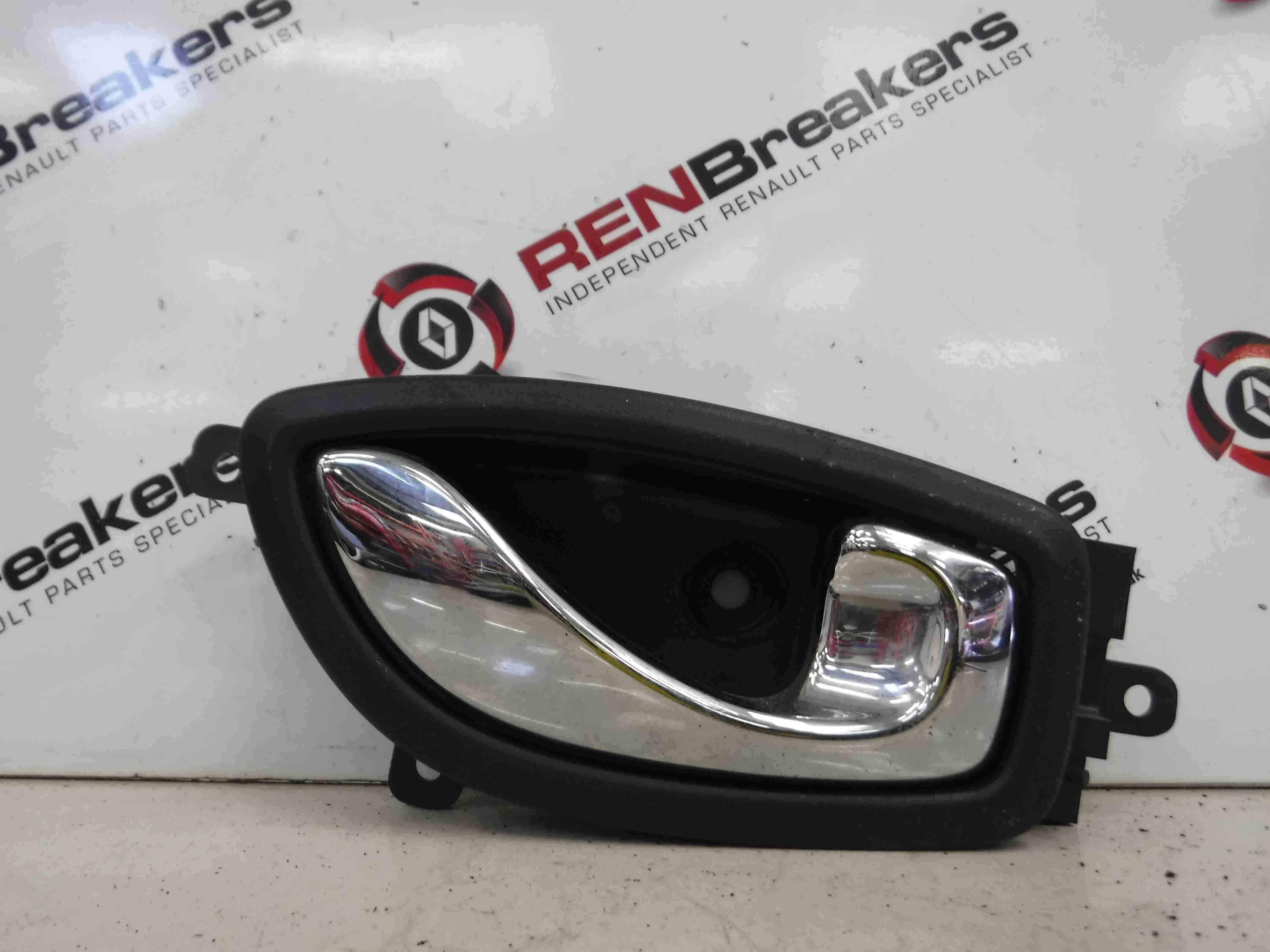Renault Koleos 2008-2010 Drivers OSR Rear Interior Door Handle