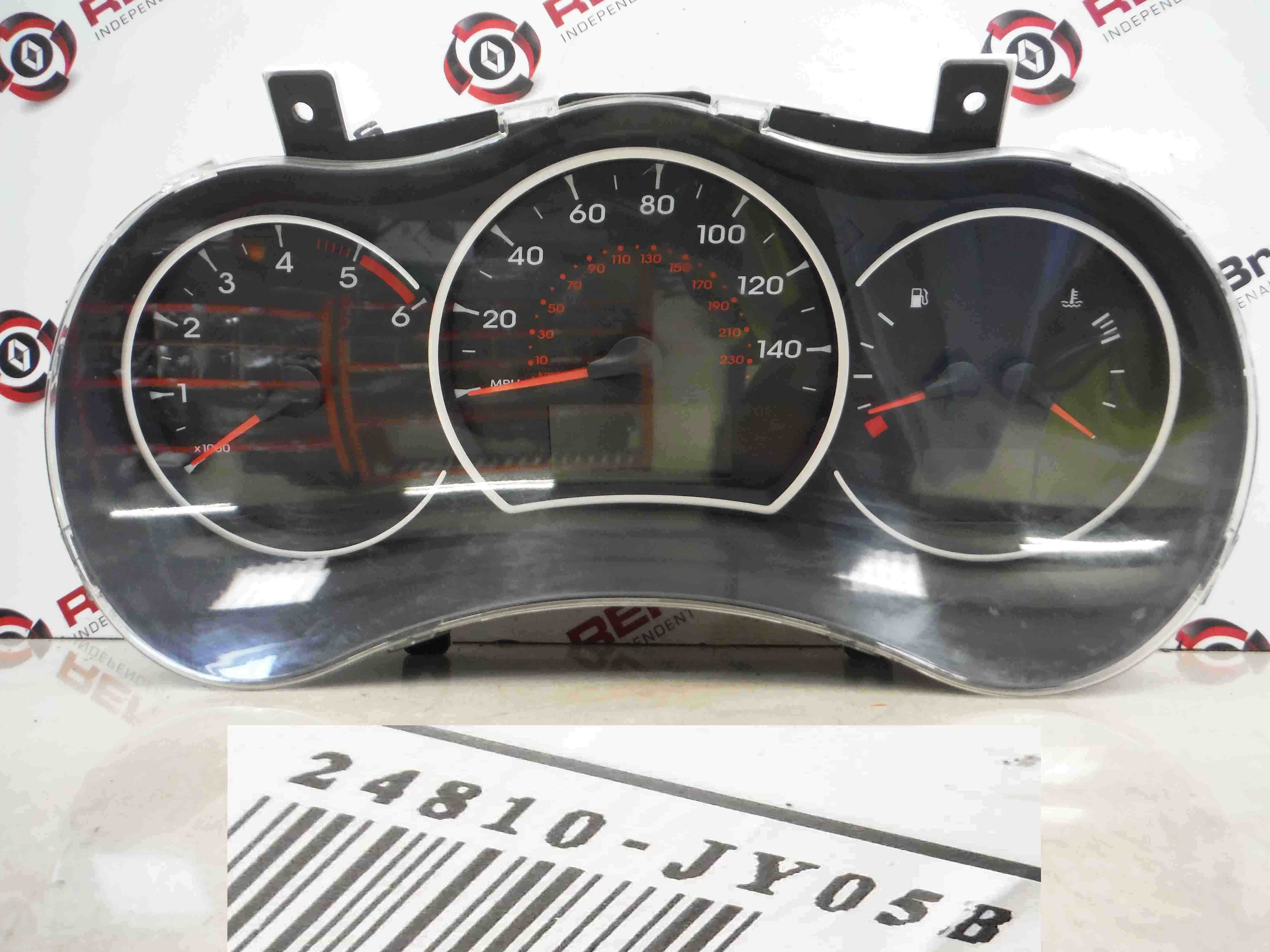 Renault Koleos 2008-2015 Instrument Panel Dials Clocks Gauges 99k 24810JY05B
