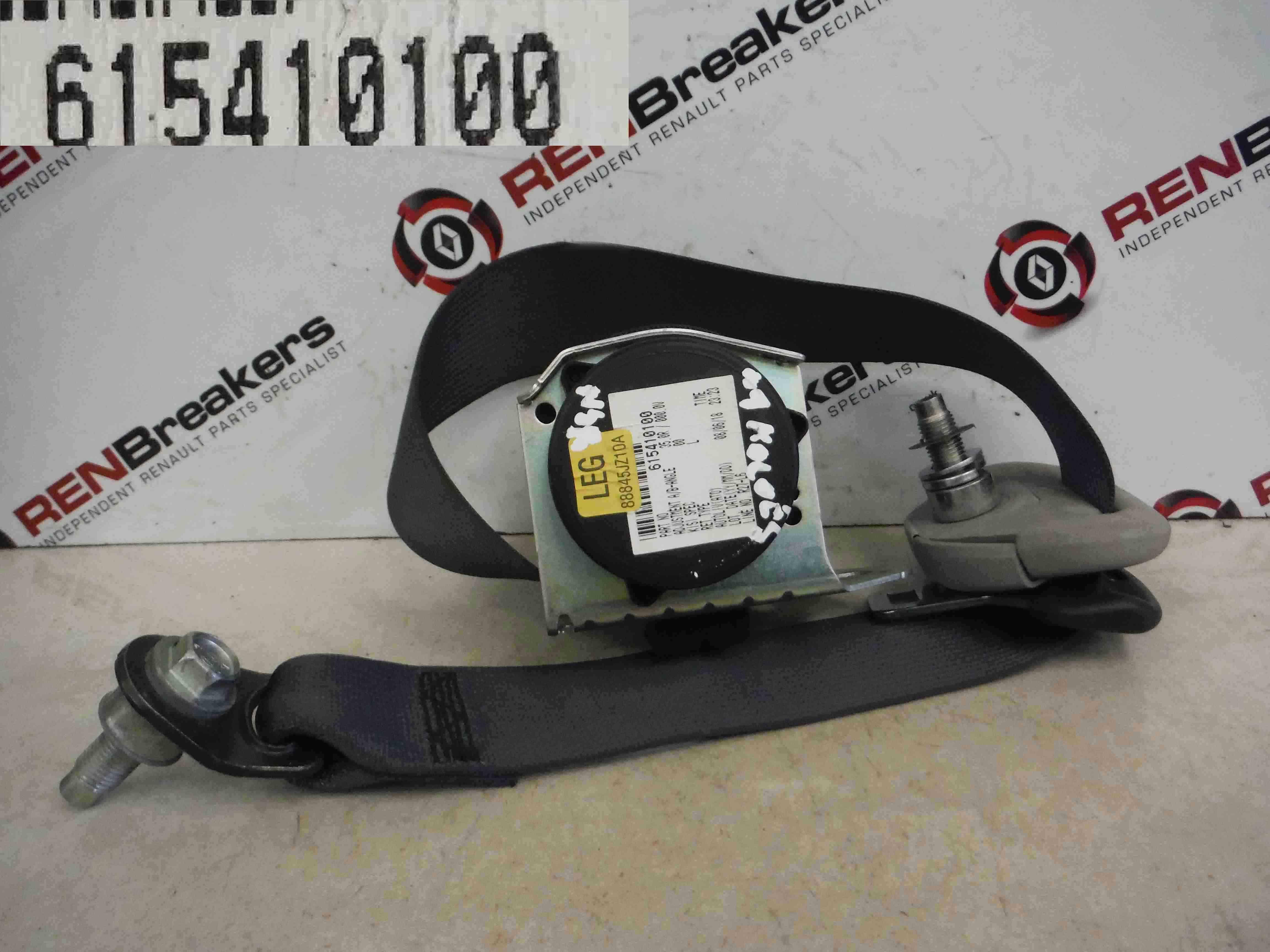Renault Koleos 2008-2010 Passenger NSR Rear Seat Belt
