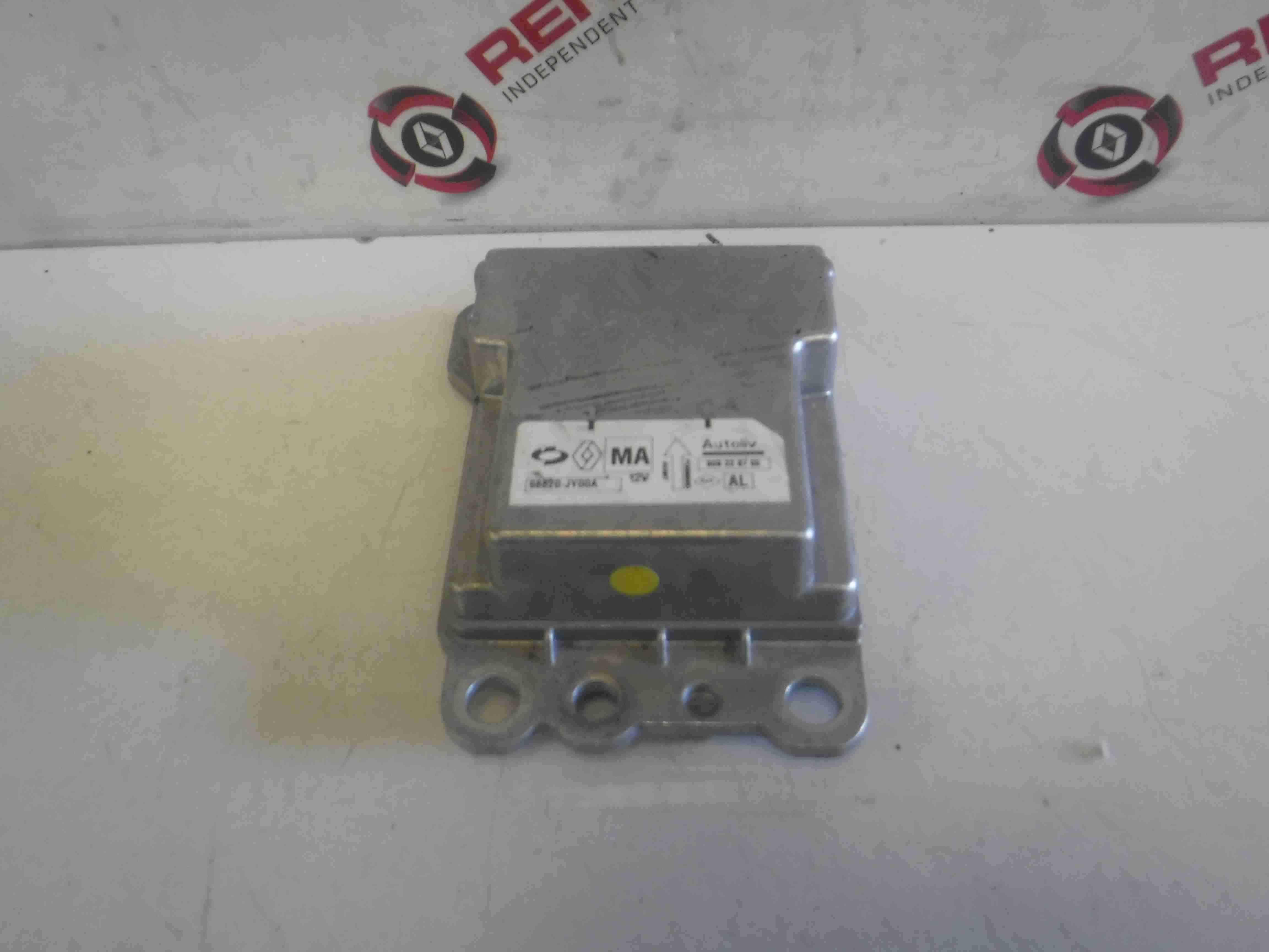 Renault Koleos 2008-2015 Airbag ECU Computer Module NO DATA 98820JY00A