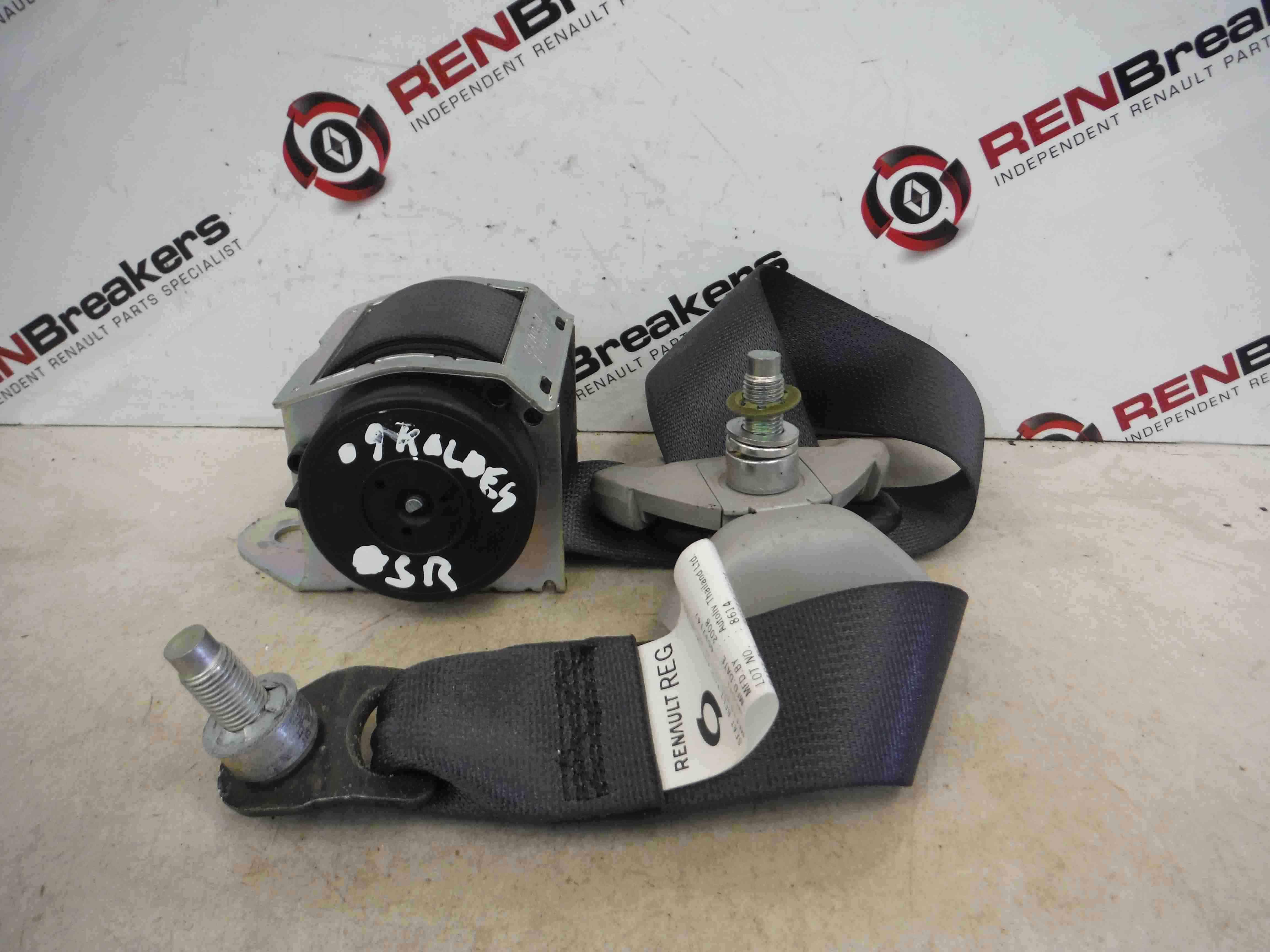 Renault Koleos 2008-2015 Drivers OSR Rear Seat Belt