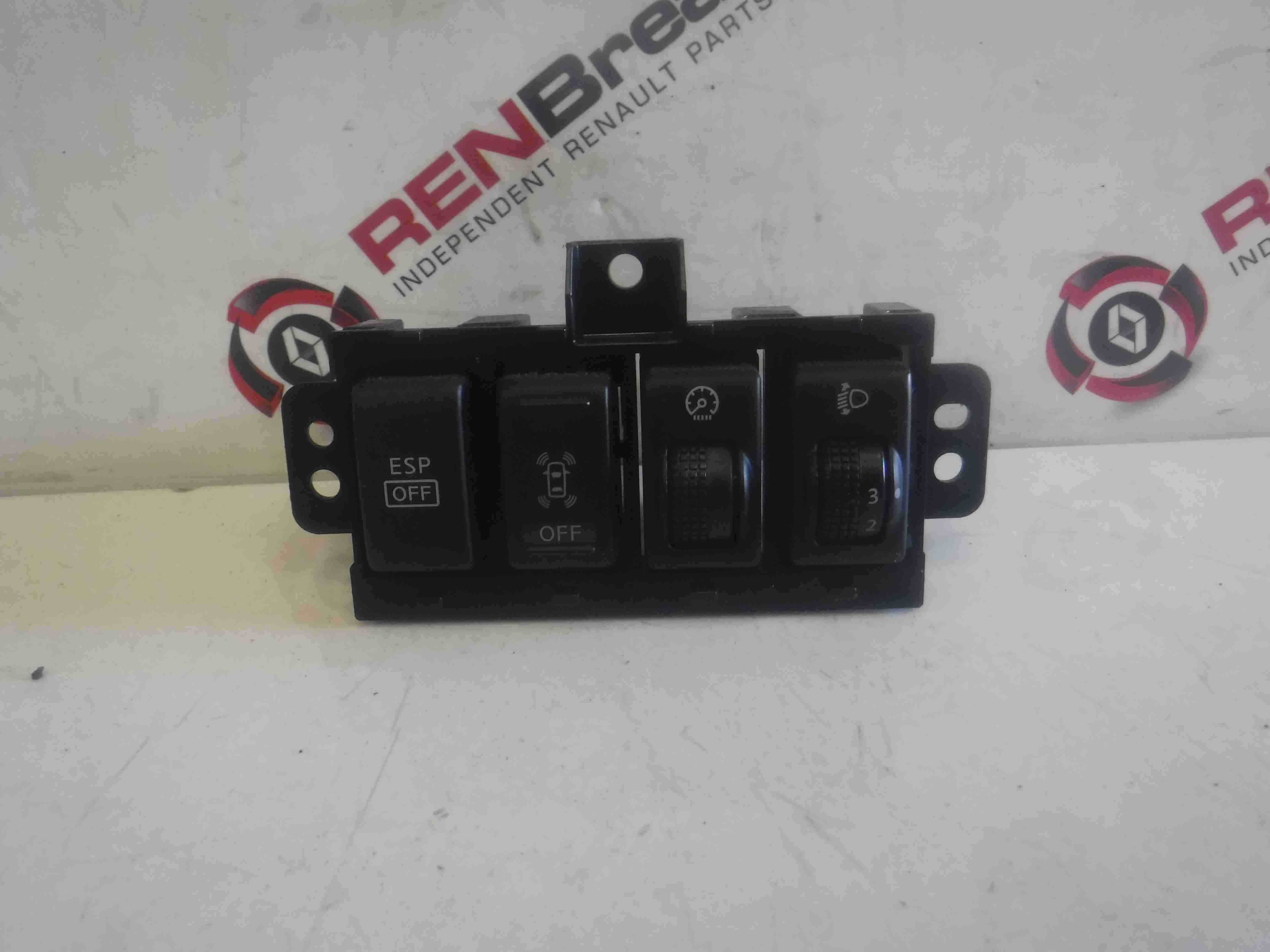 Renault Koleos 2008-2015 ESP Off Speed Limiter Headlight Adjuster