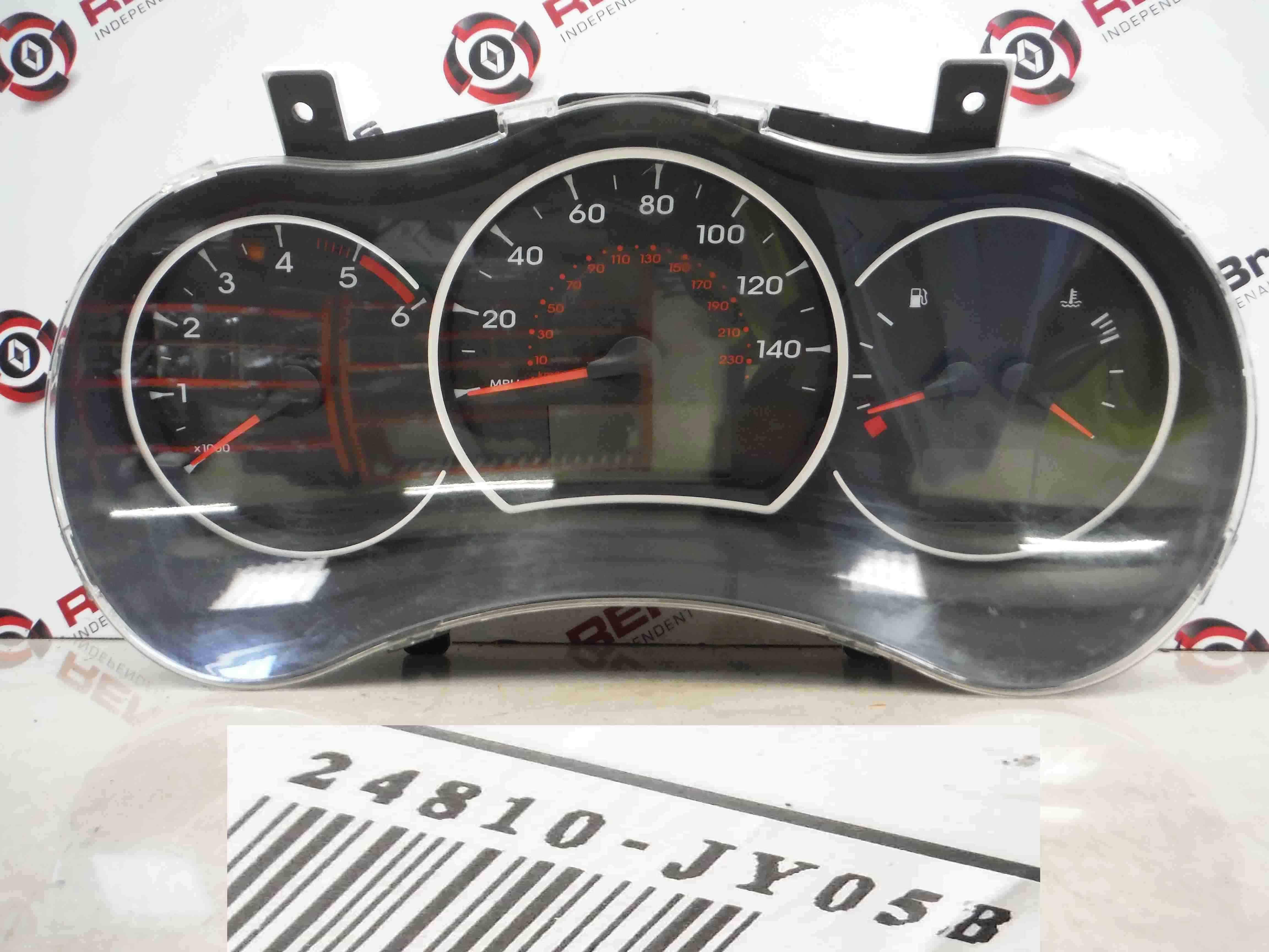 Renault Koleos 2008-2015 Instrument Panel Dials Clocks Gauges 24810JY05B