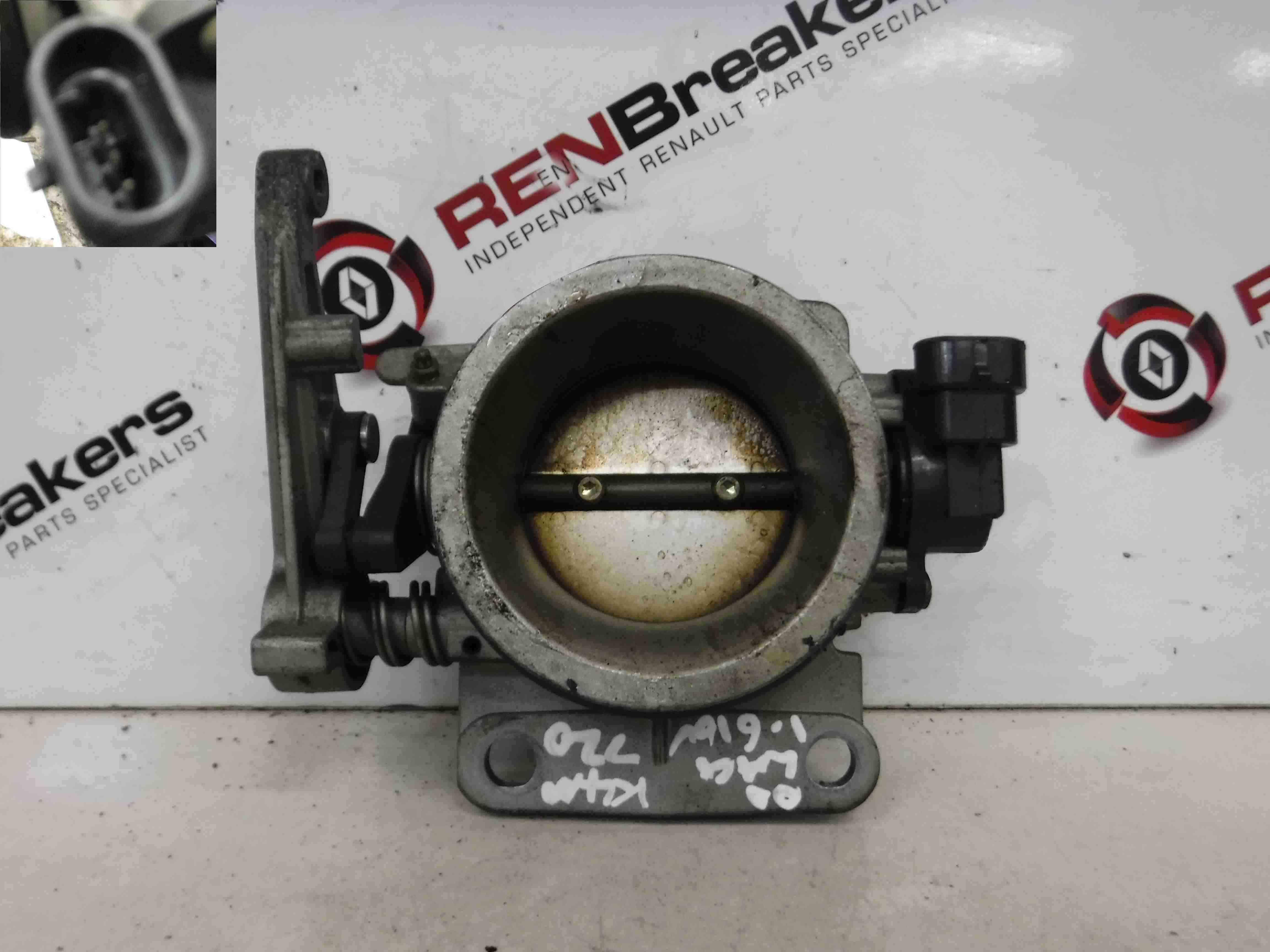 renault laguna 1999 2000 1 6 16v throttle body 7700875435 store renault breakers used. Black Bedroom Furniture Sets. Home Design Ideas