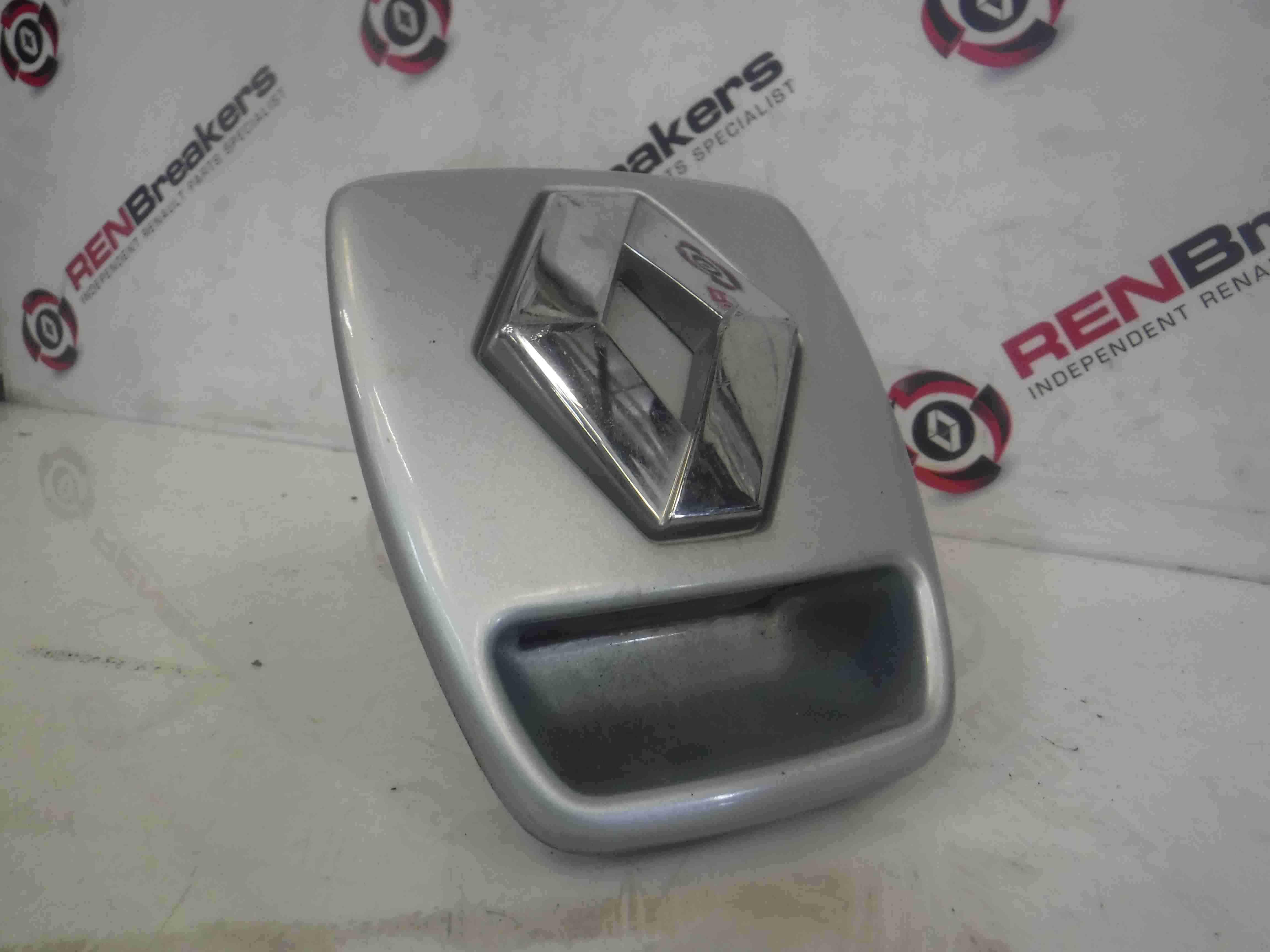 Renault Laguna 2001-2005 Boot Lock Mechanism + Surround Silver TEB64