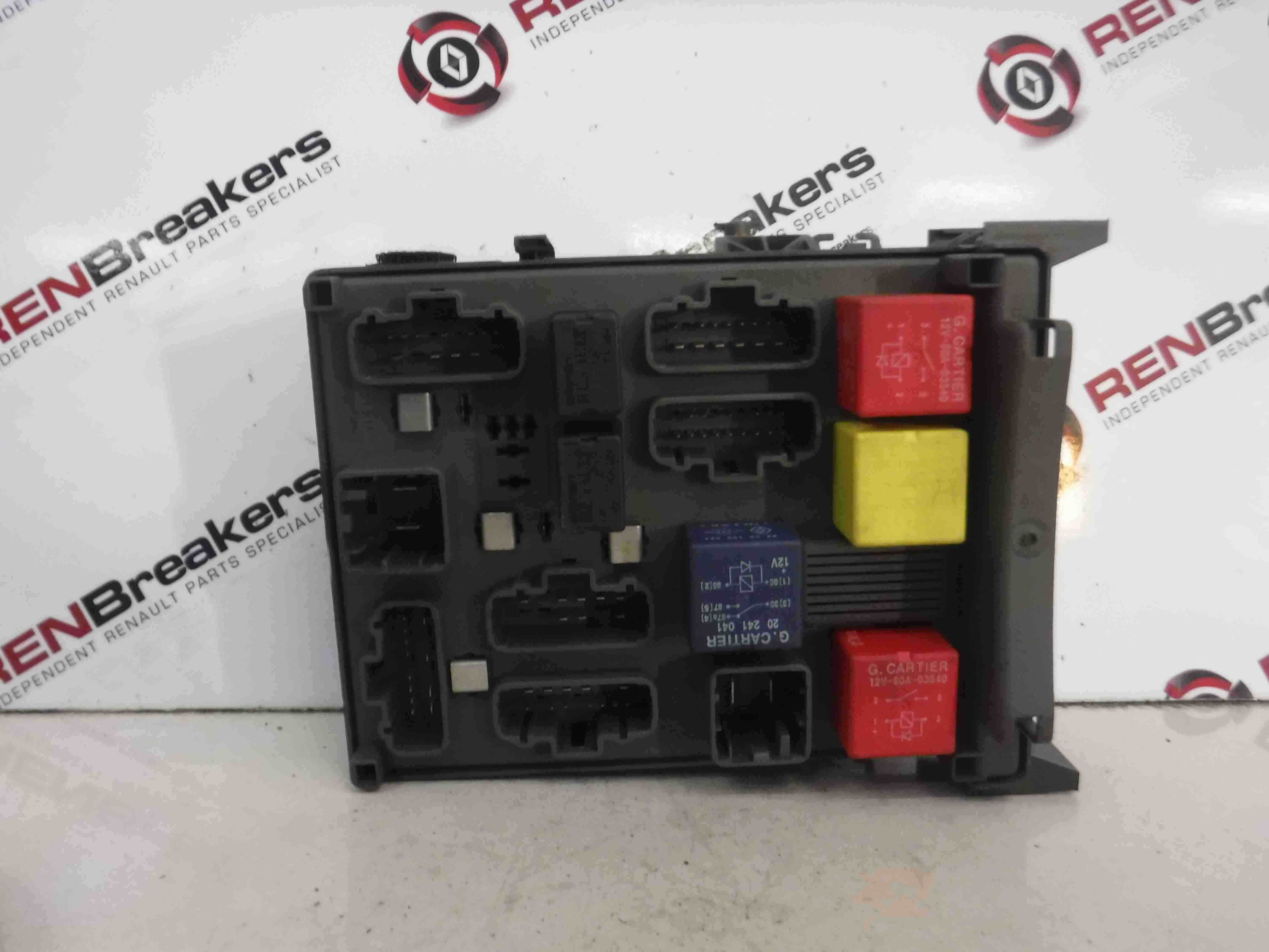 renault laguna 2001 2005 dashboard fuse box relay computer. Black Bedroom Furniture Sets. Home Design Ideas