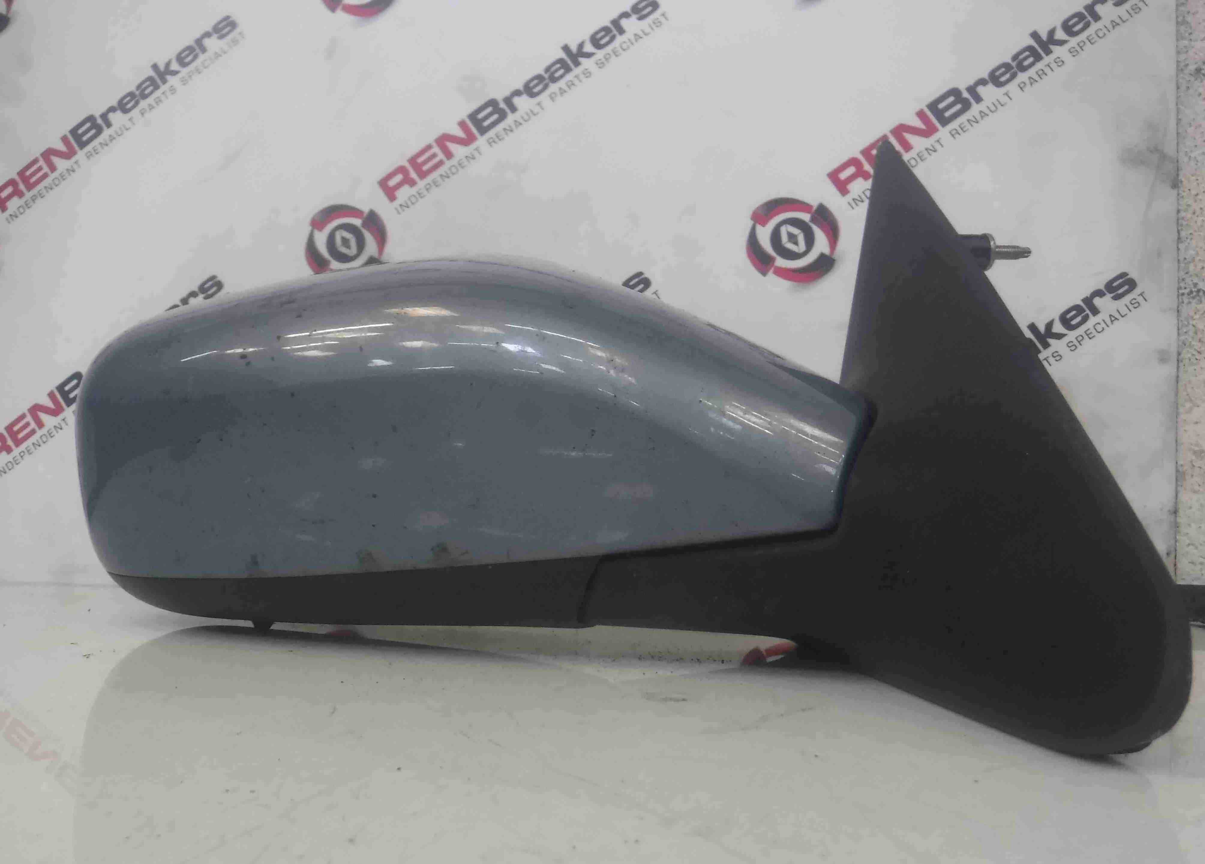 Renault Laguna 2001-2005 Drivers OS Wing Mirror Purple Blue TED47