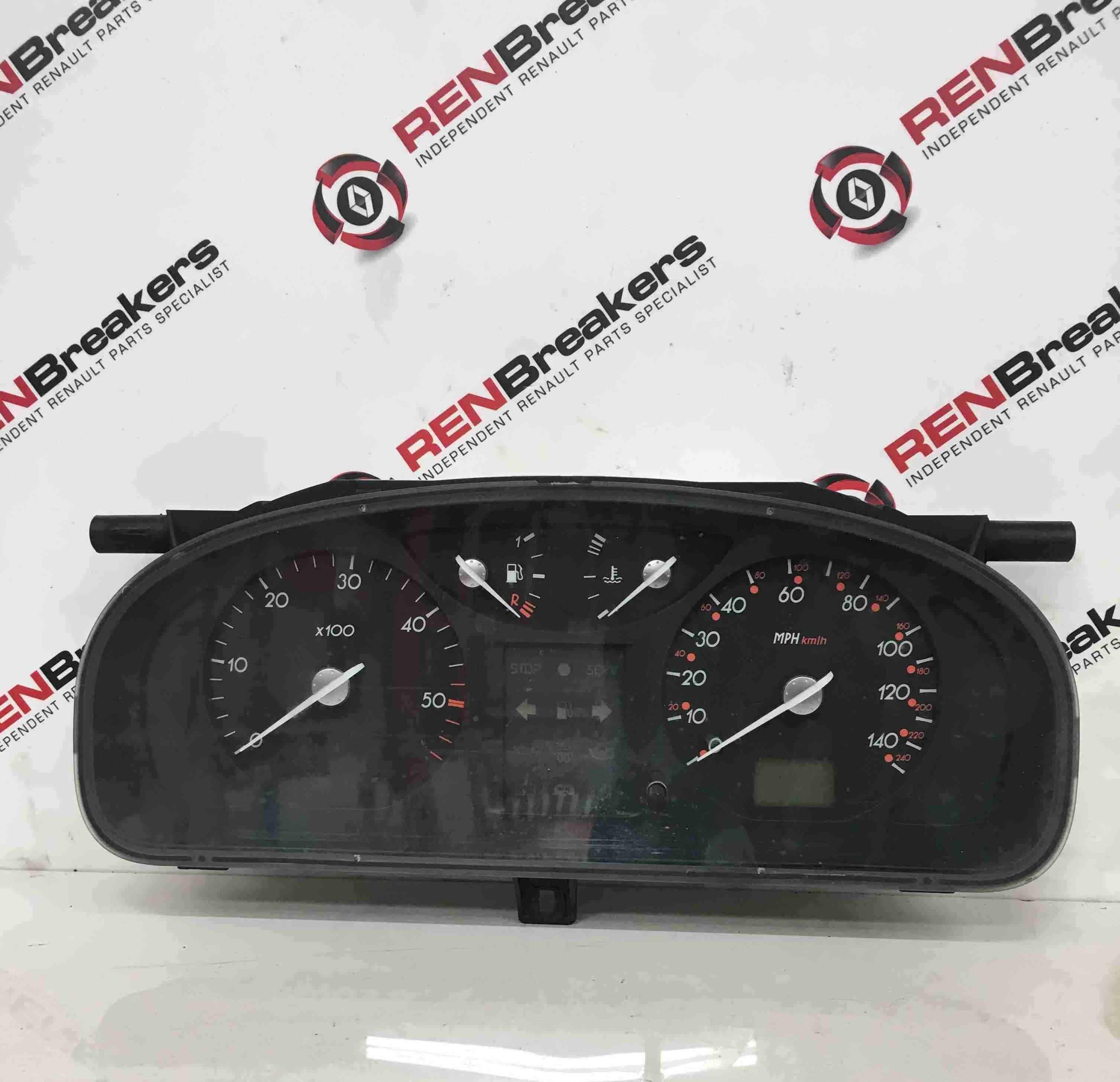 Renault Laguna 2001-2005 Instrument Panel Dials Gauges Clocks Cluster 149K