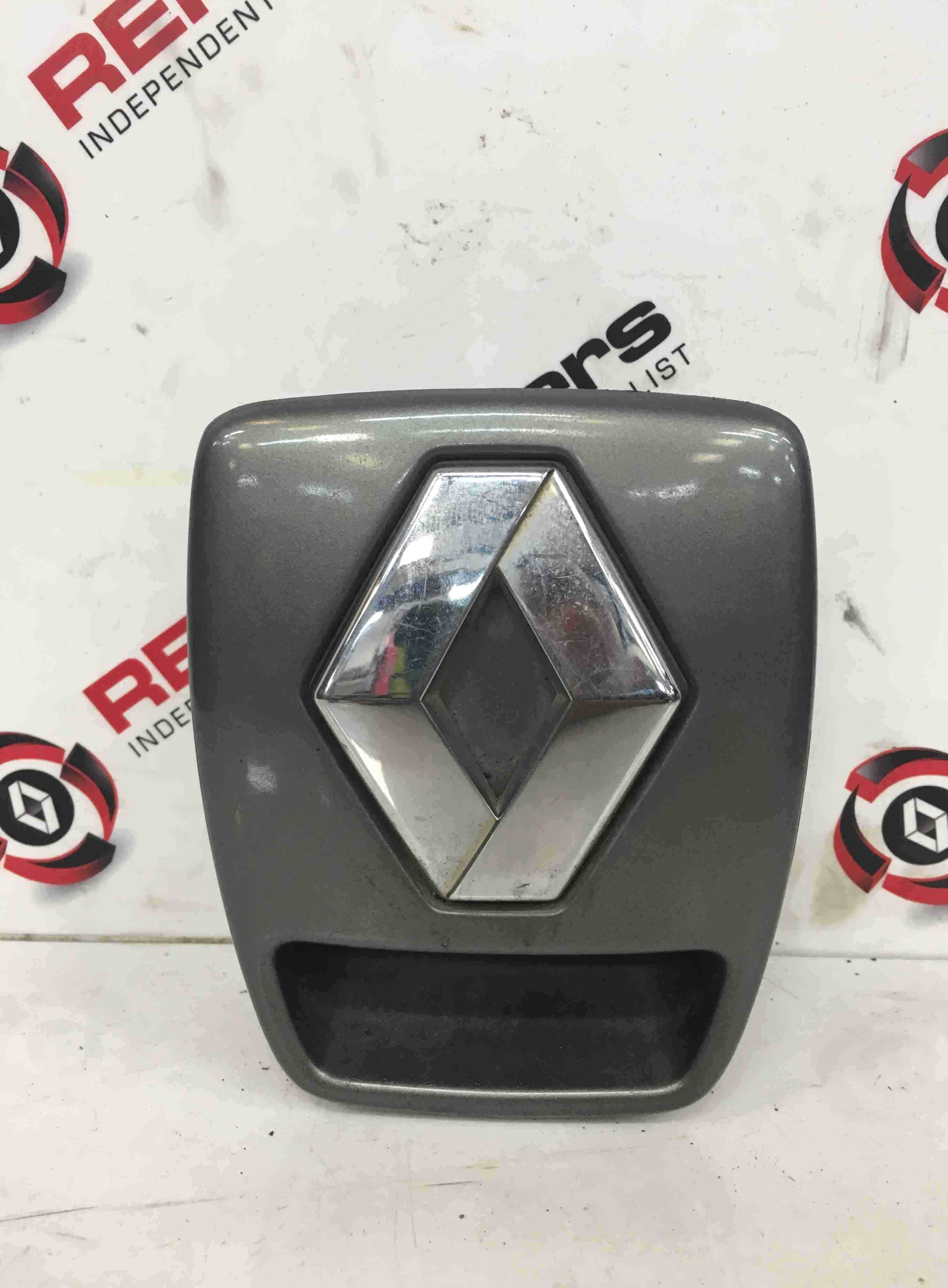 Renault Laguna 2001-2005 Rear Boot Button With Surround Grey 603