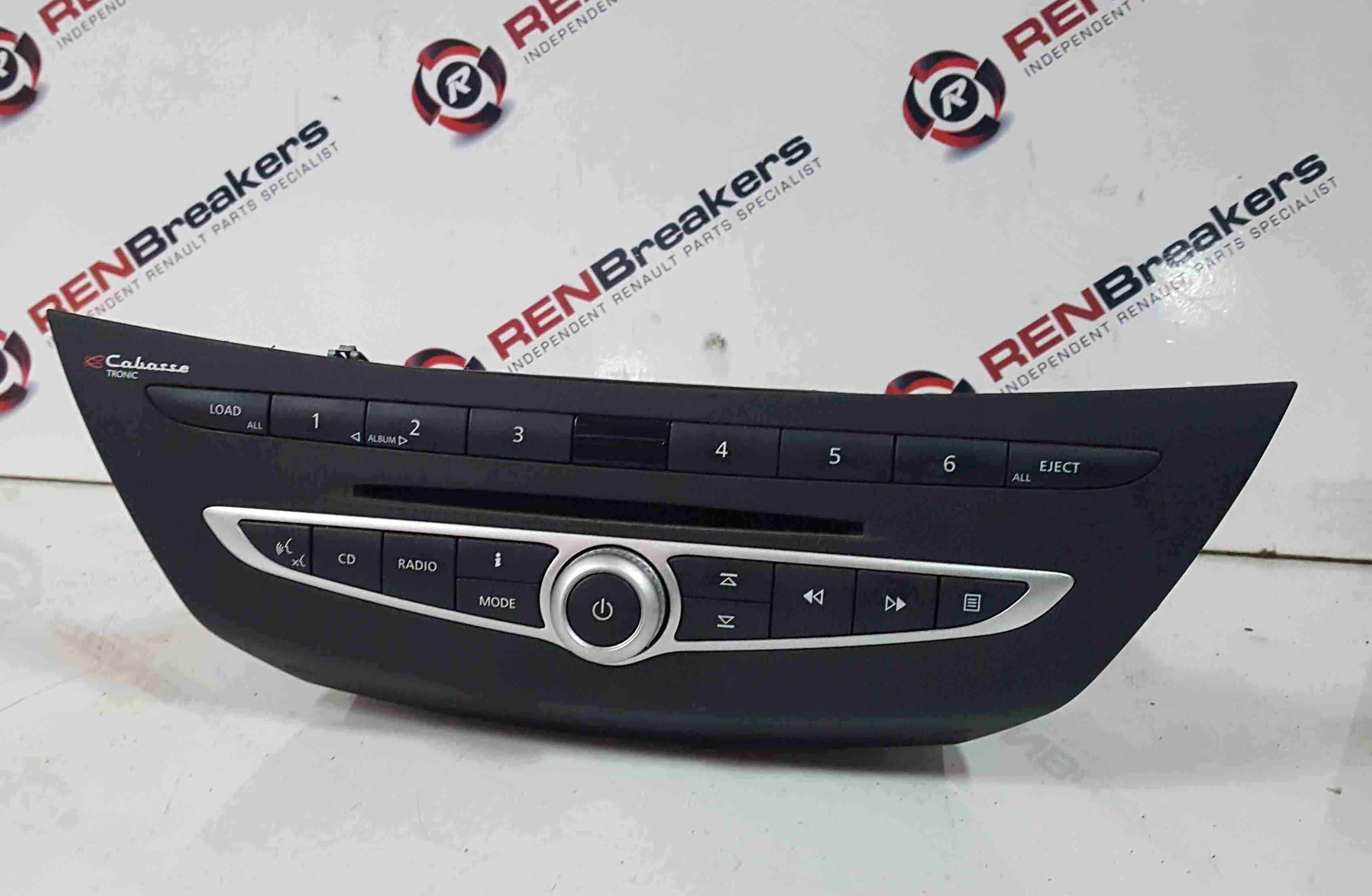 Renault Laguna MK3 2007-2012 CD Player Radio Cabasse