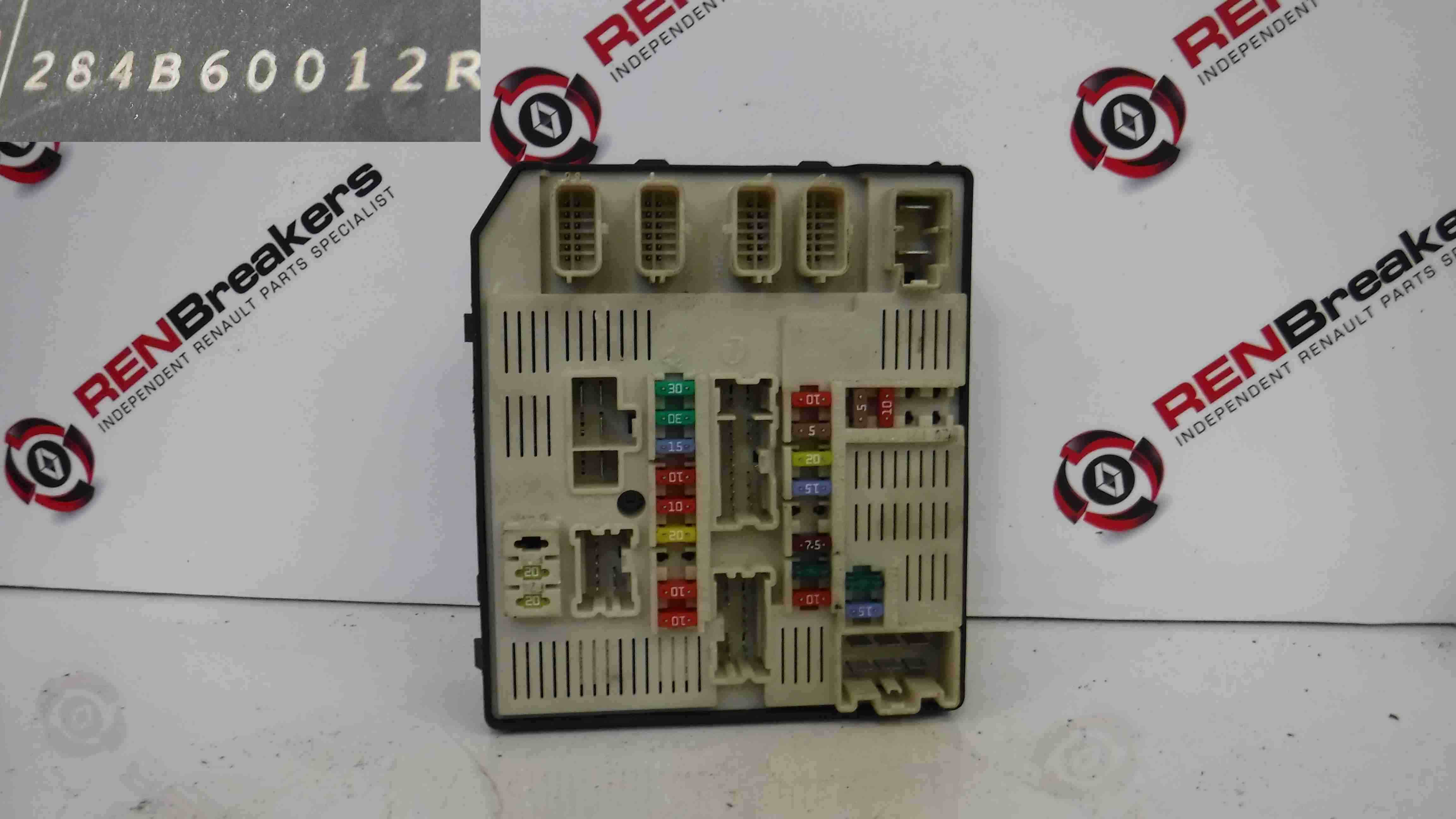 Renault-Laguna-MK3-20072012-Engine-Bay-Fuse-Box-UPC-284B60012r Where Is Fuse Box On Renault Grand Scenic on