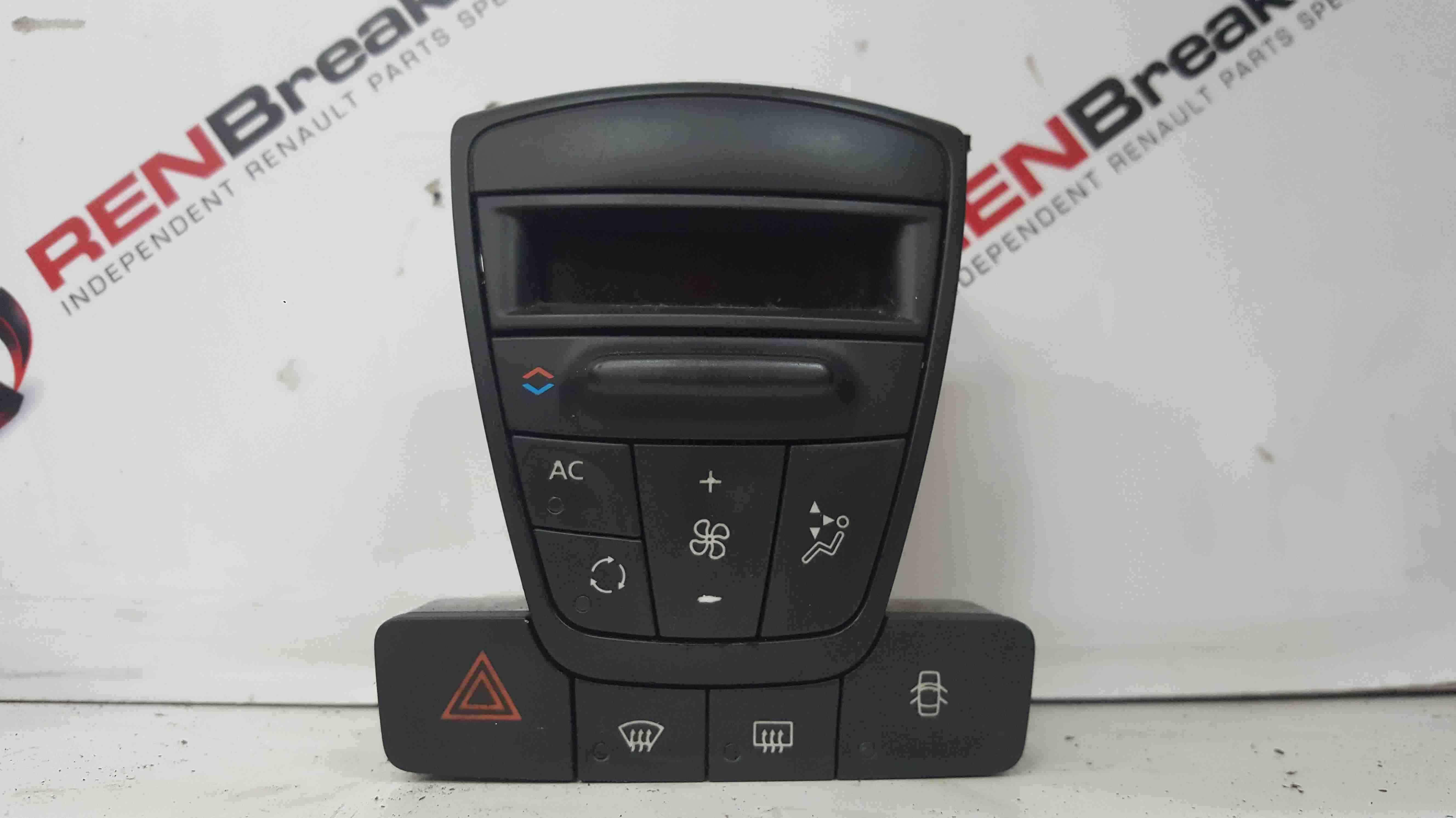 Renault Laguna MK3 2007-2012 Heater Controls Panel 275100001R