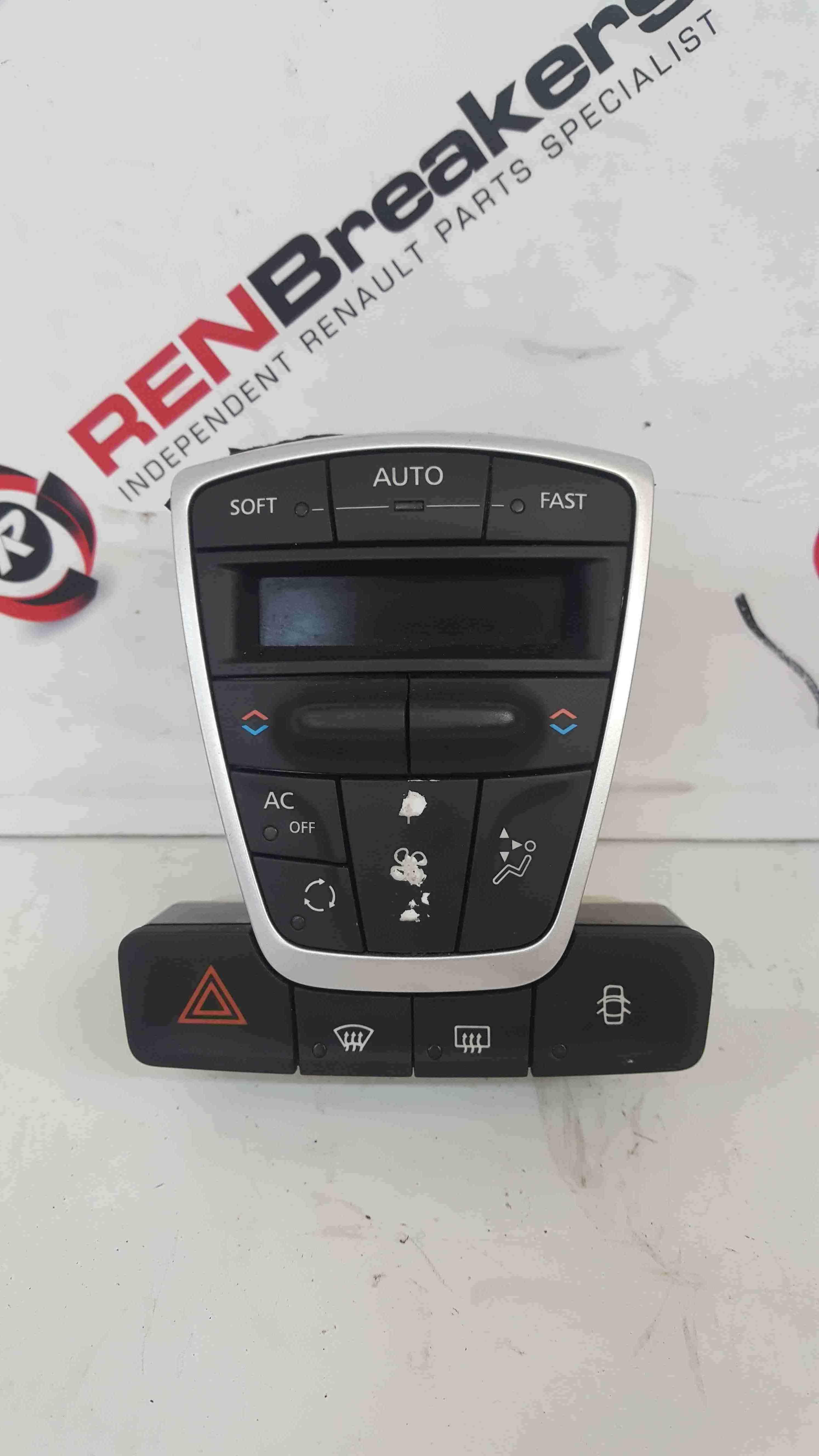 Renault Laguna MK3 2007-2012 Heater Digital Controls Hazard Switch Air Con