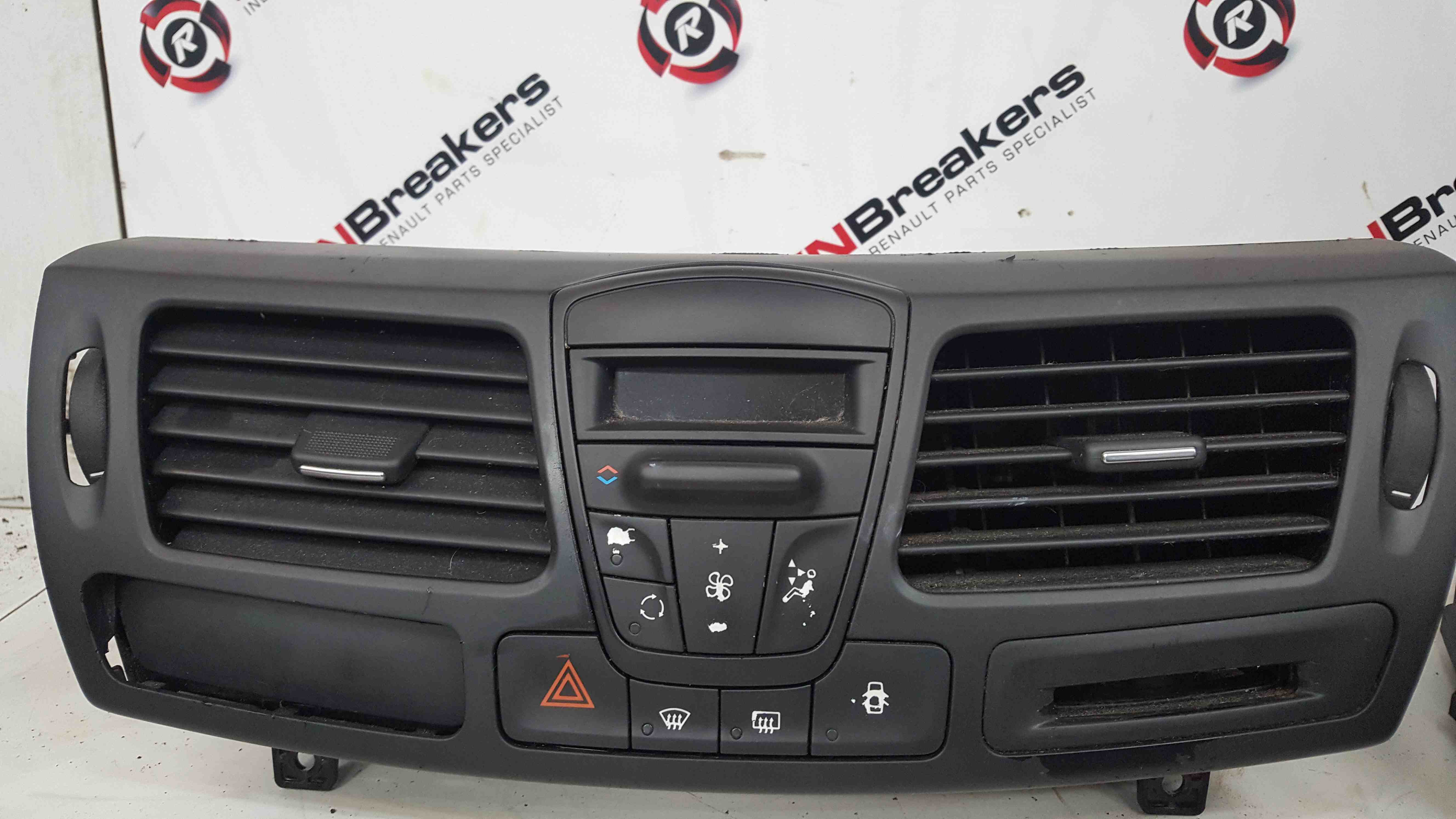 Renault Laguna MK3 2007-2012 Heater Vent Control Heater Panel Switches