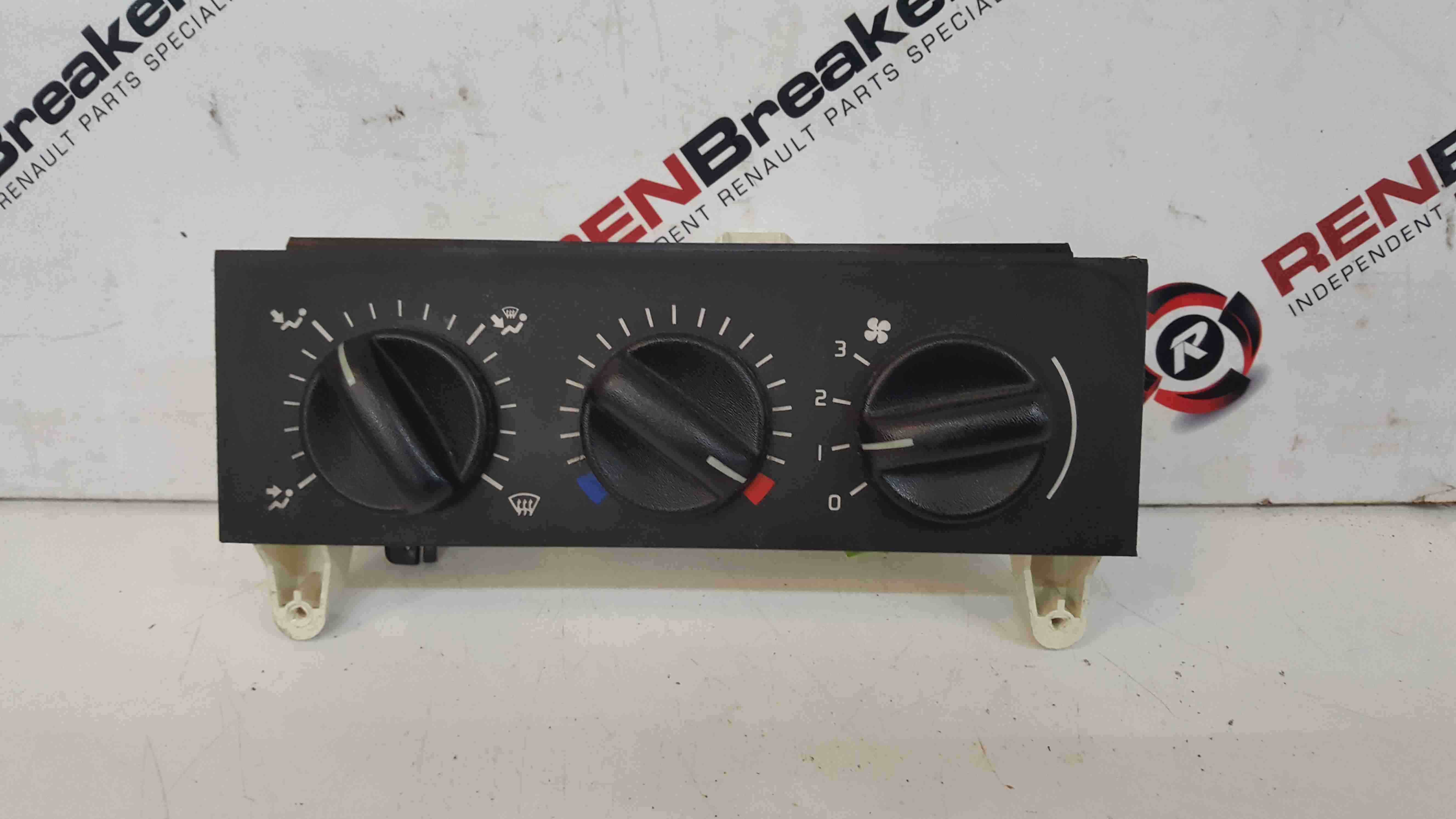 Renault Master 1997-2003 Heater Controls Switches Panel 133761F