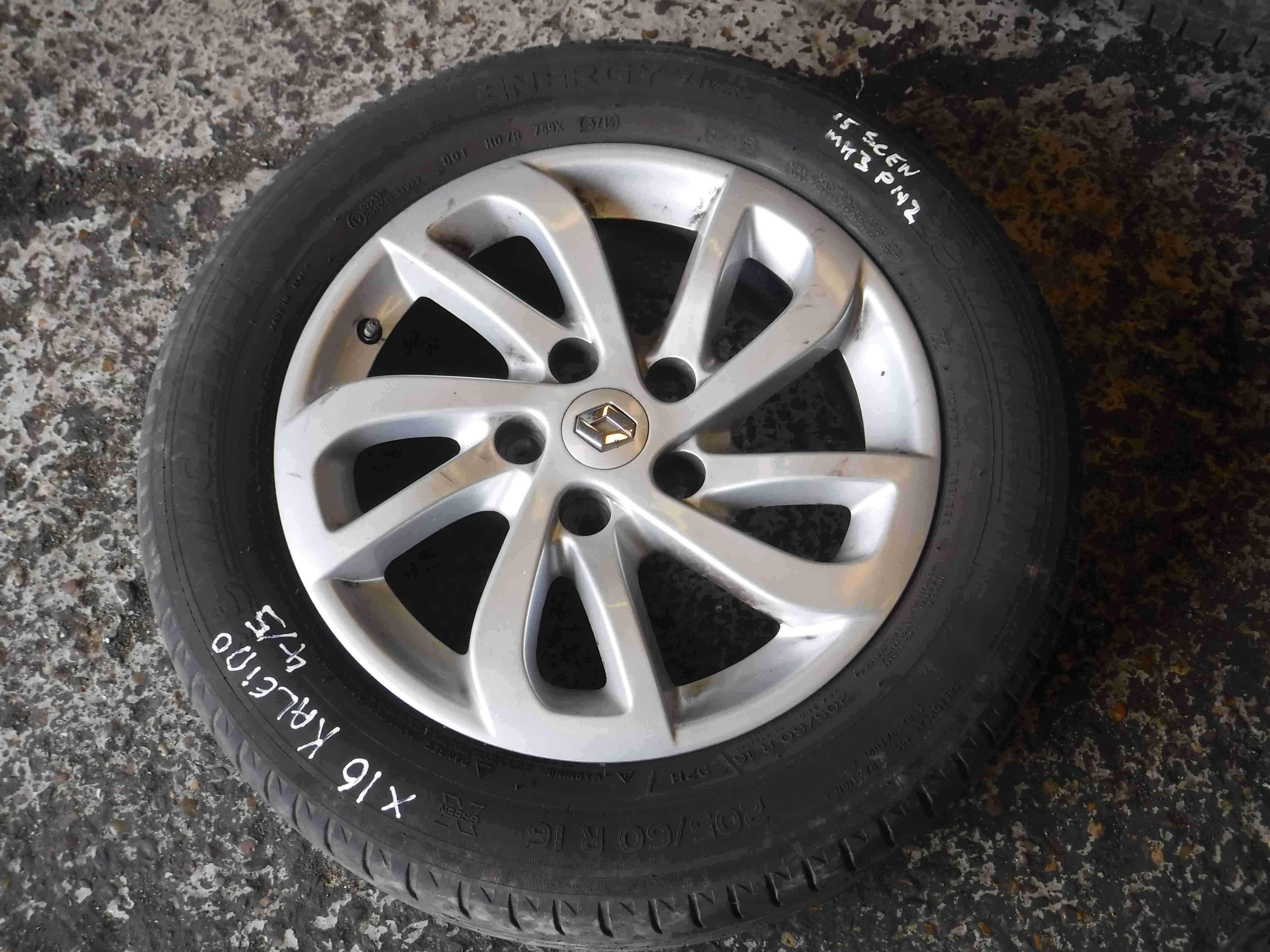 Renault Megane Scenic Kaleido Alloy Wheel Inch