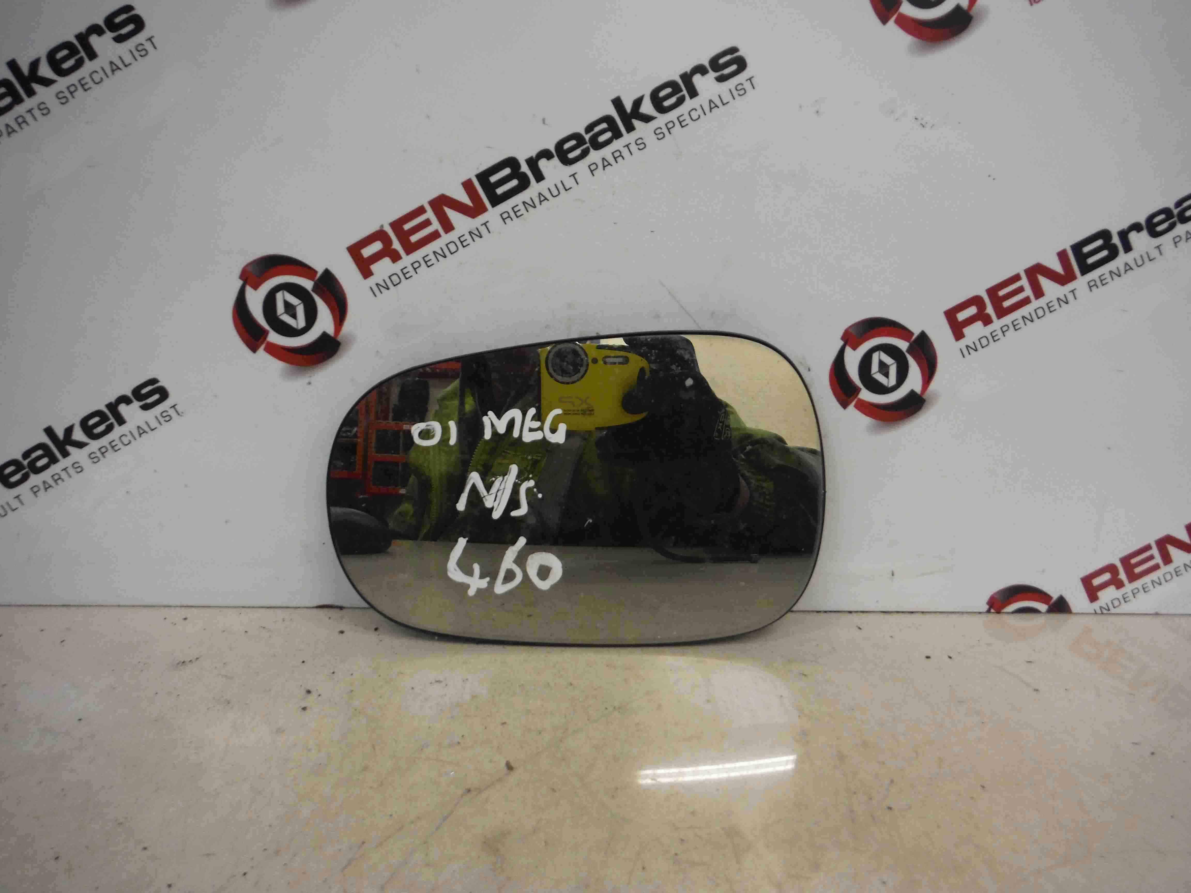 Renault Megane 1999-2002 Passenger NS Wing Mirror Glass 7701040255