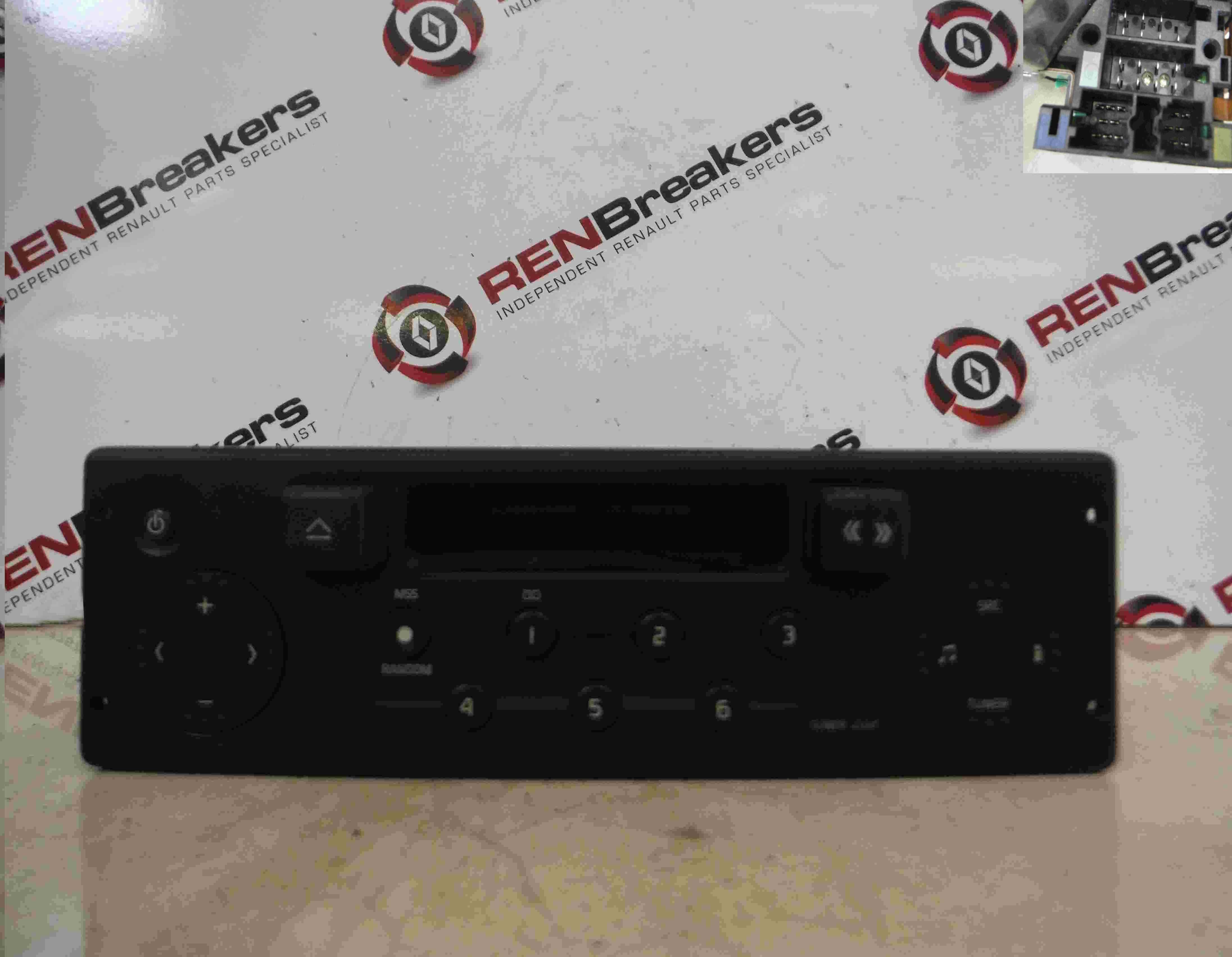 renault megane 1999 2002 radio casette player tuner list code ebay. Black Bedroom Furniture Sets. Home Design Ideas