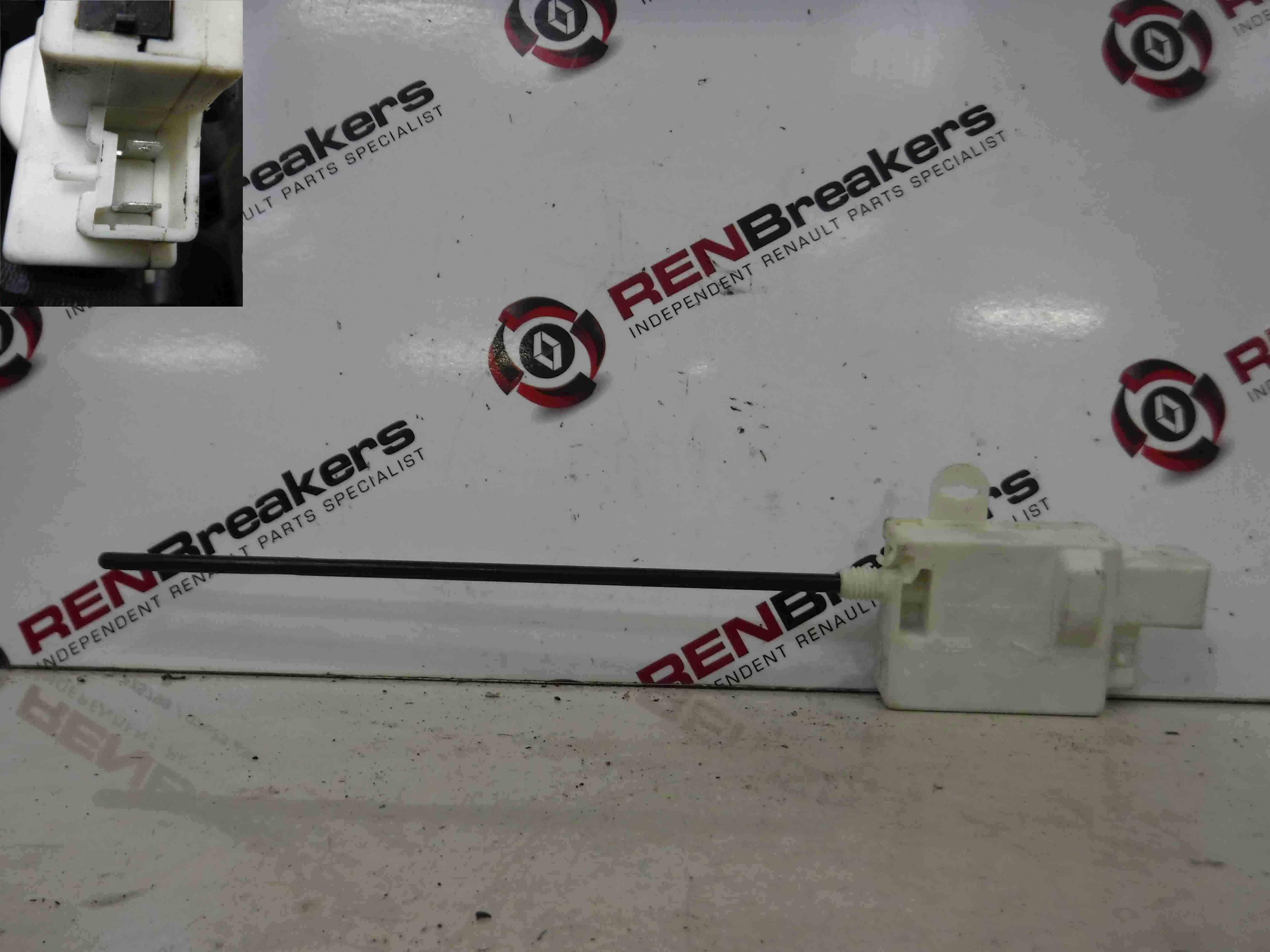 Renault Megane 2002-2008 Fuel Flap Locking Solenoid Mechanism Lock