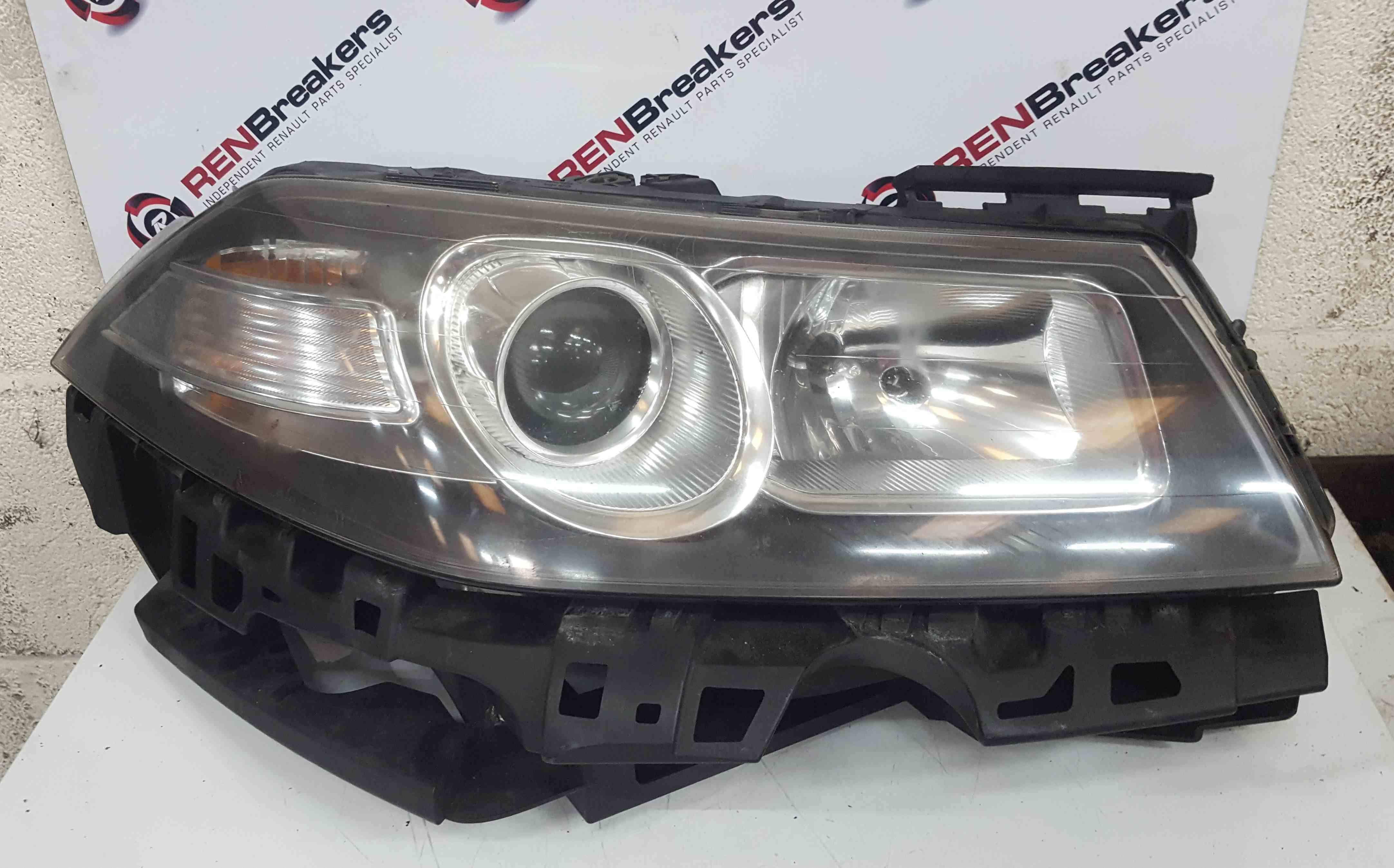 Renault Megane 2006-2008 Drivers OSF Front Headlight Black Backing 7701067023