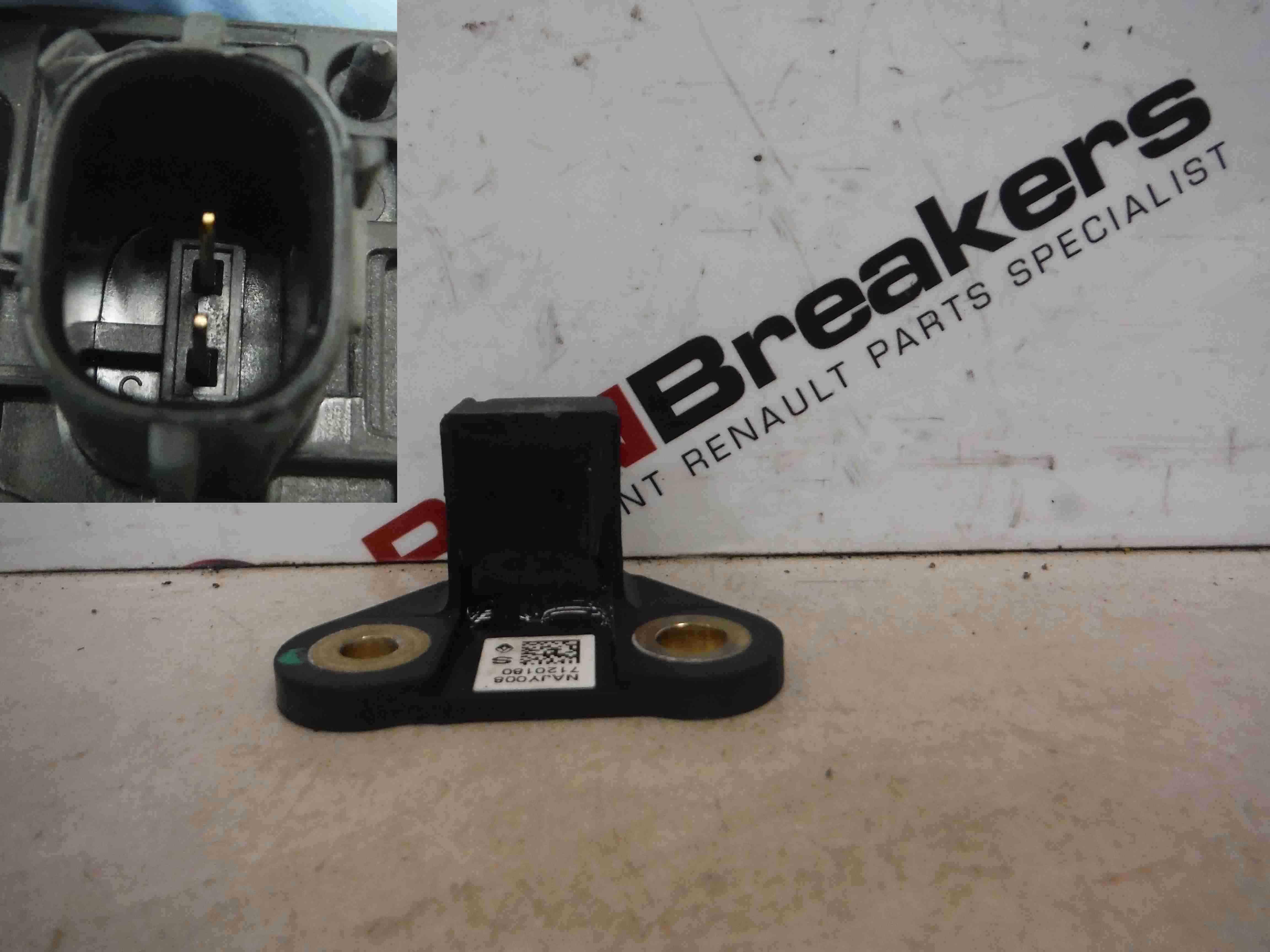 Renault Megane Clio Captur Air Bag Sensor SRS Crash Impact