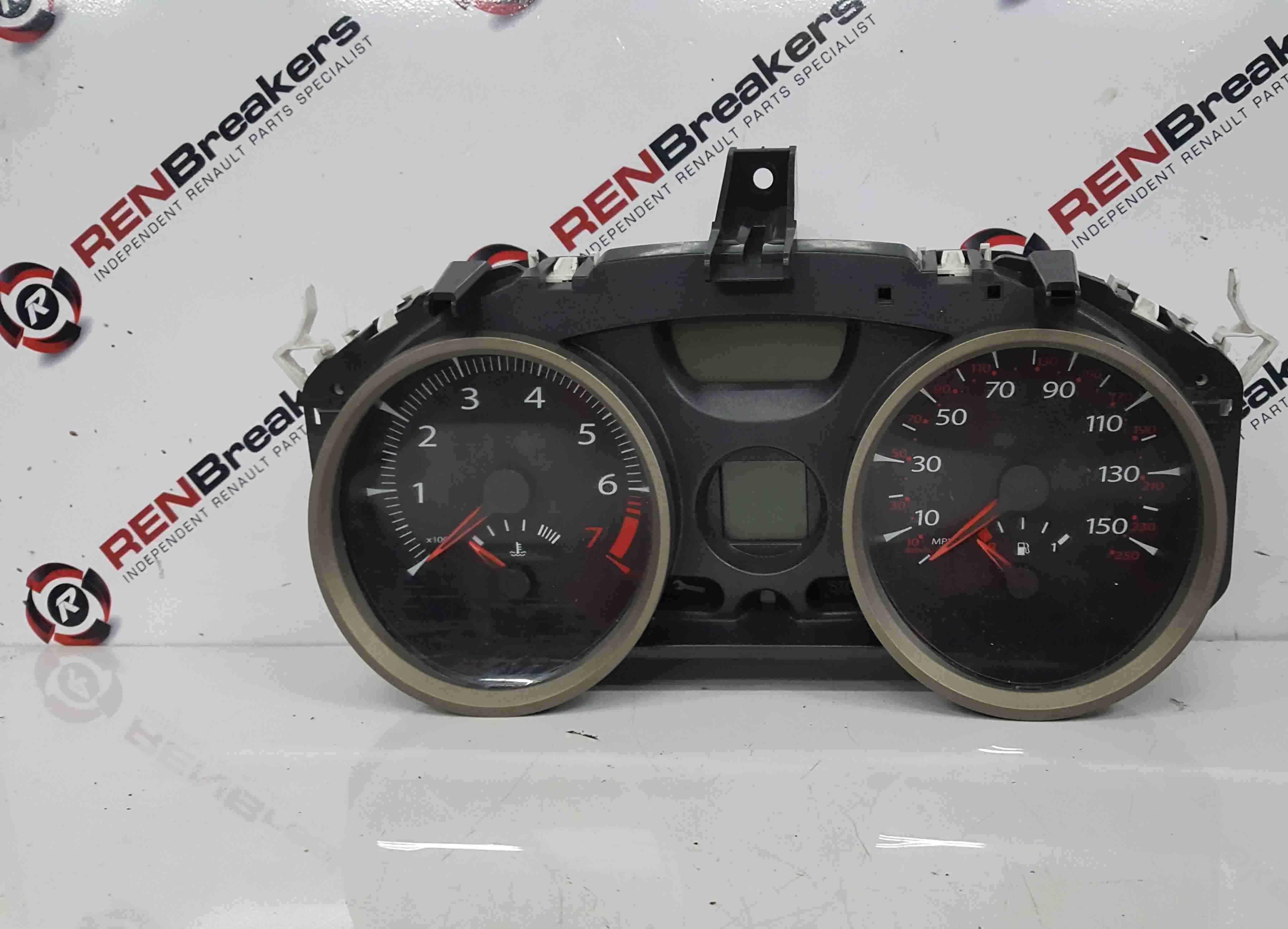 Renault Megane Convertible 2002-2008 Instrument Panel Dials Clocks 59K