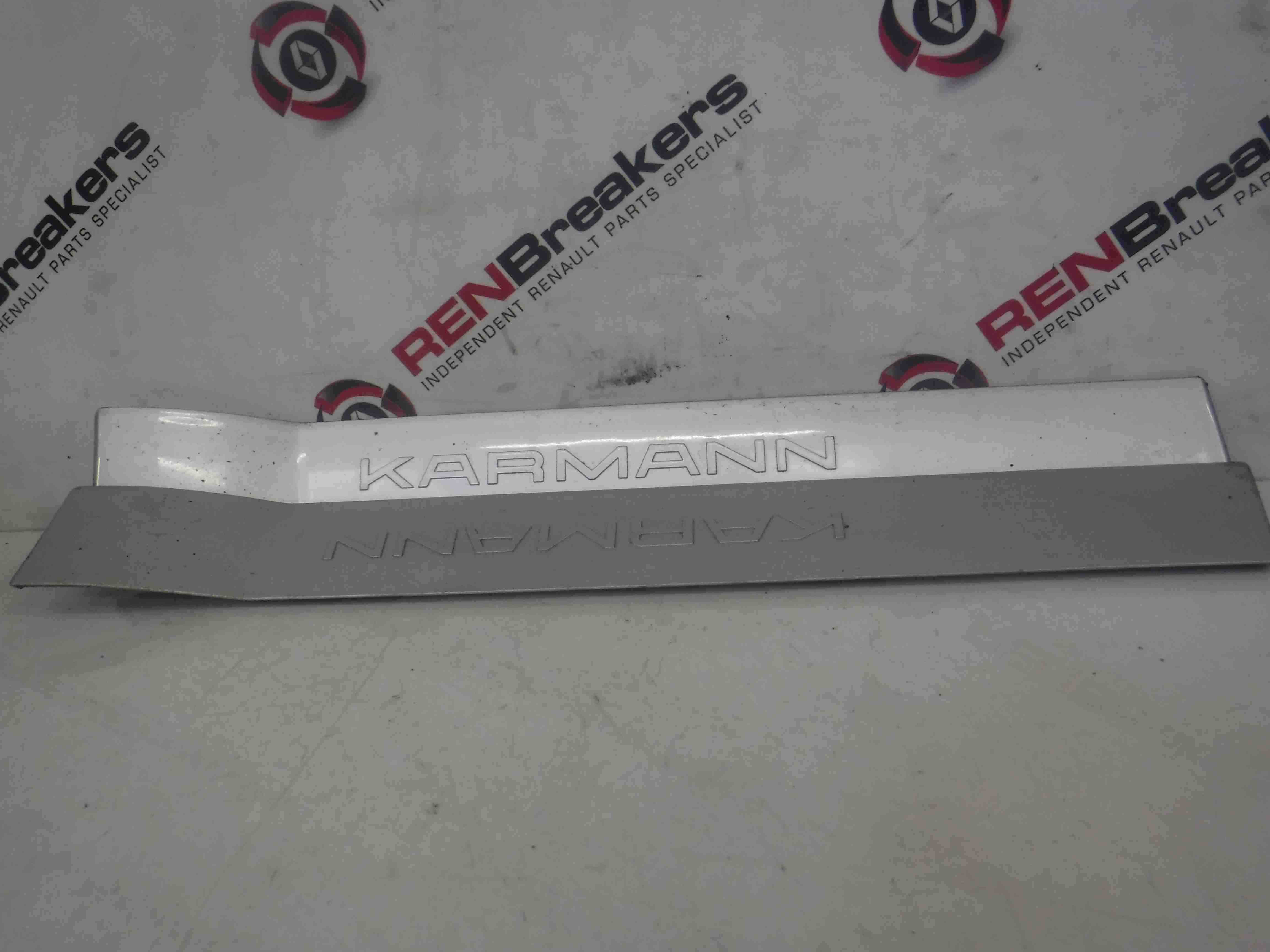Renault Megane Convertible 2002-2008 Karmann Door Sill Silver TED69