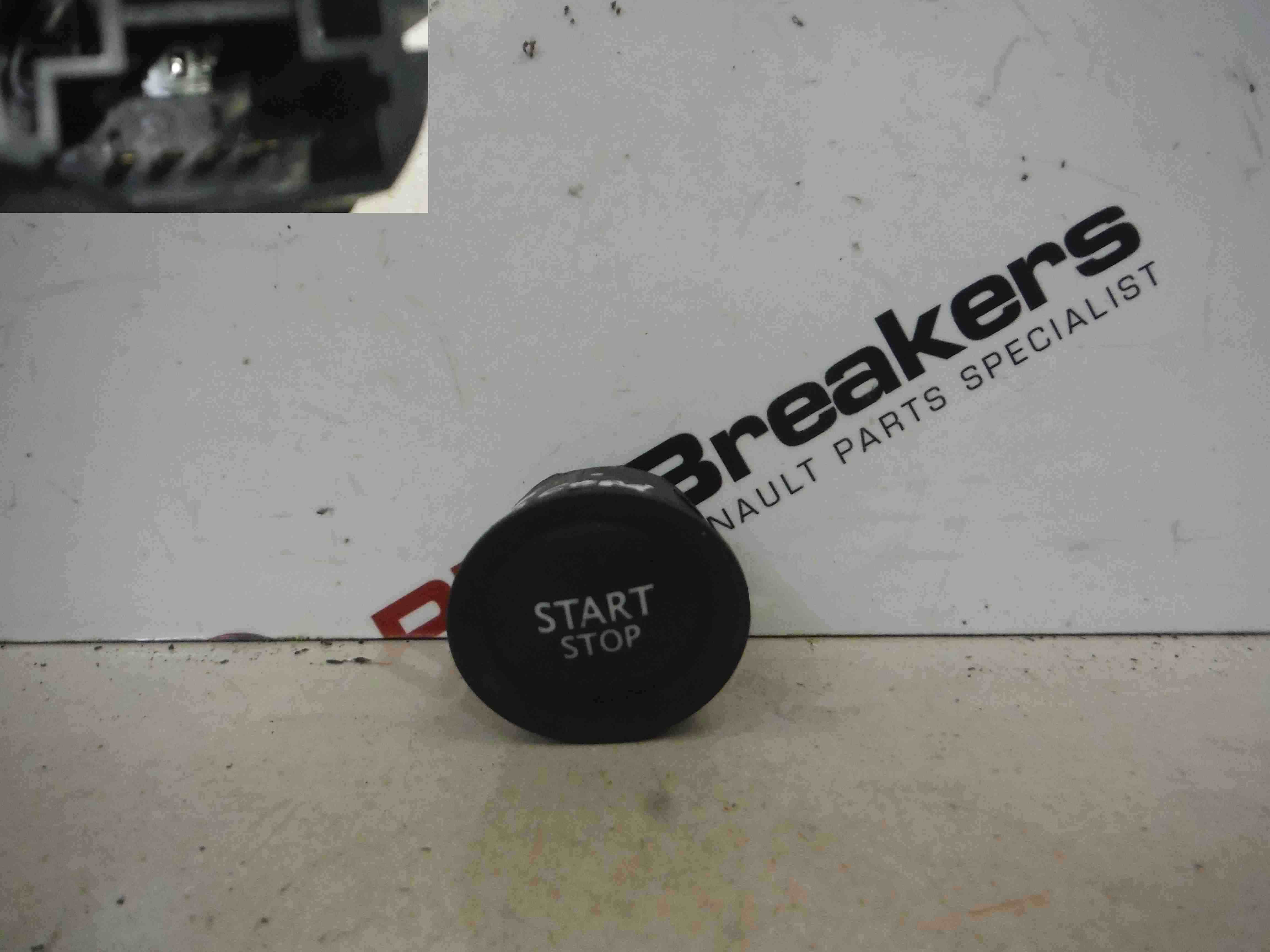 Renault Megane + Convertible 2002-2008 Start Stop Ignition Button 107838 407396