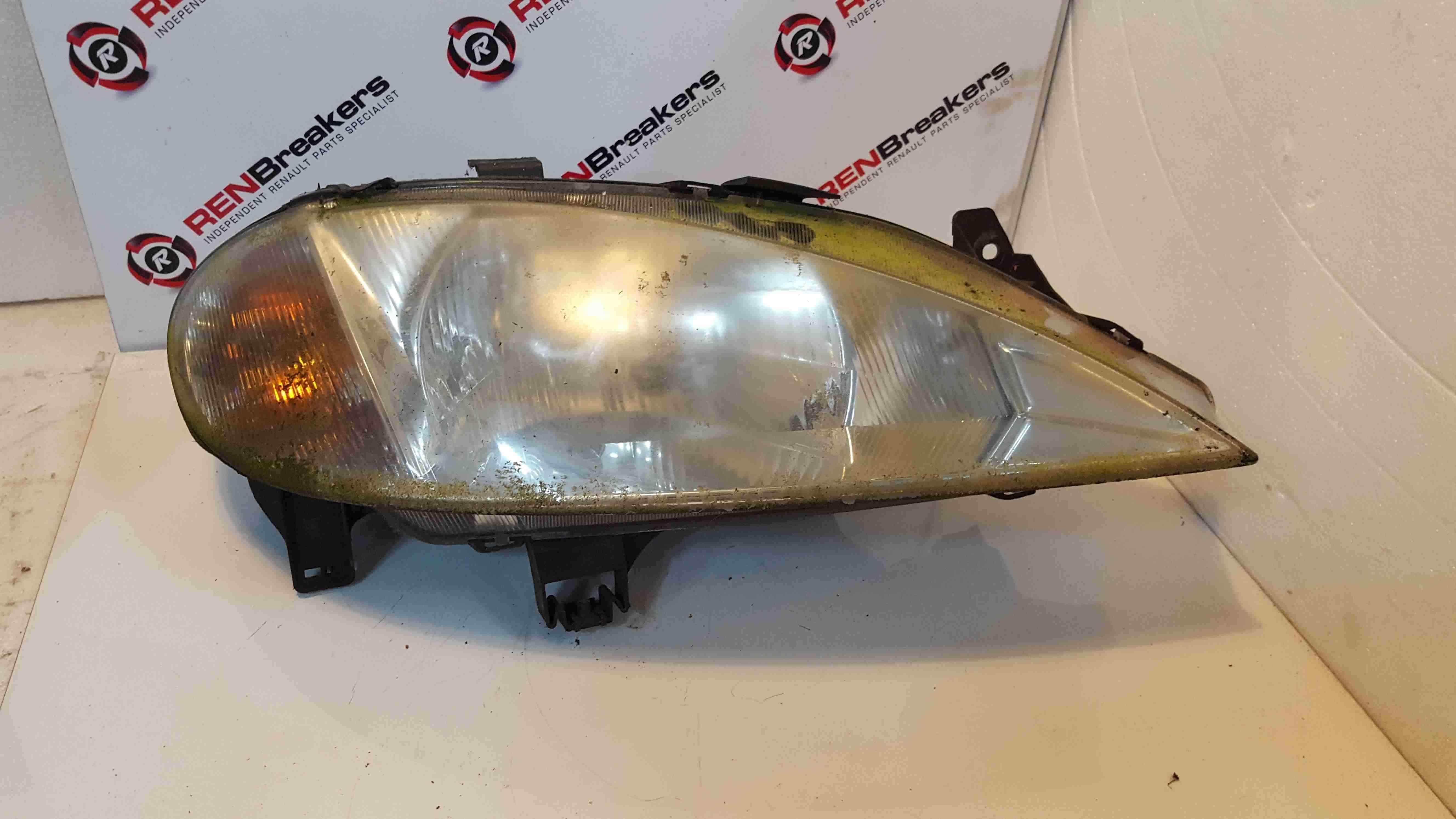 Renault Megane MK1 1999-2002 Drivers OSF Front Headlight